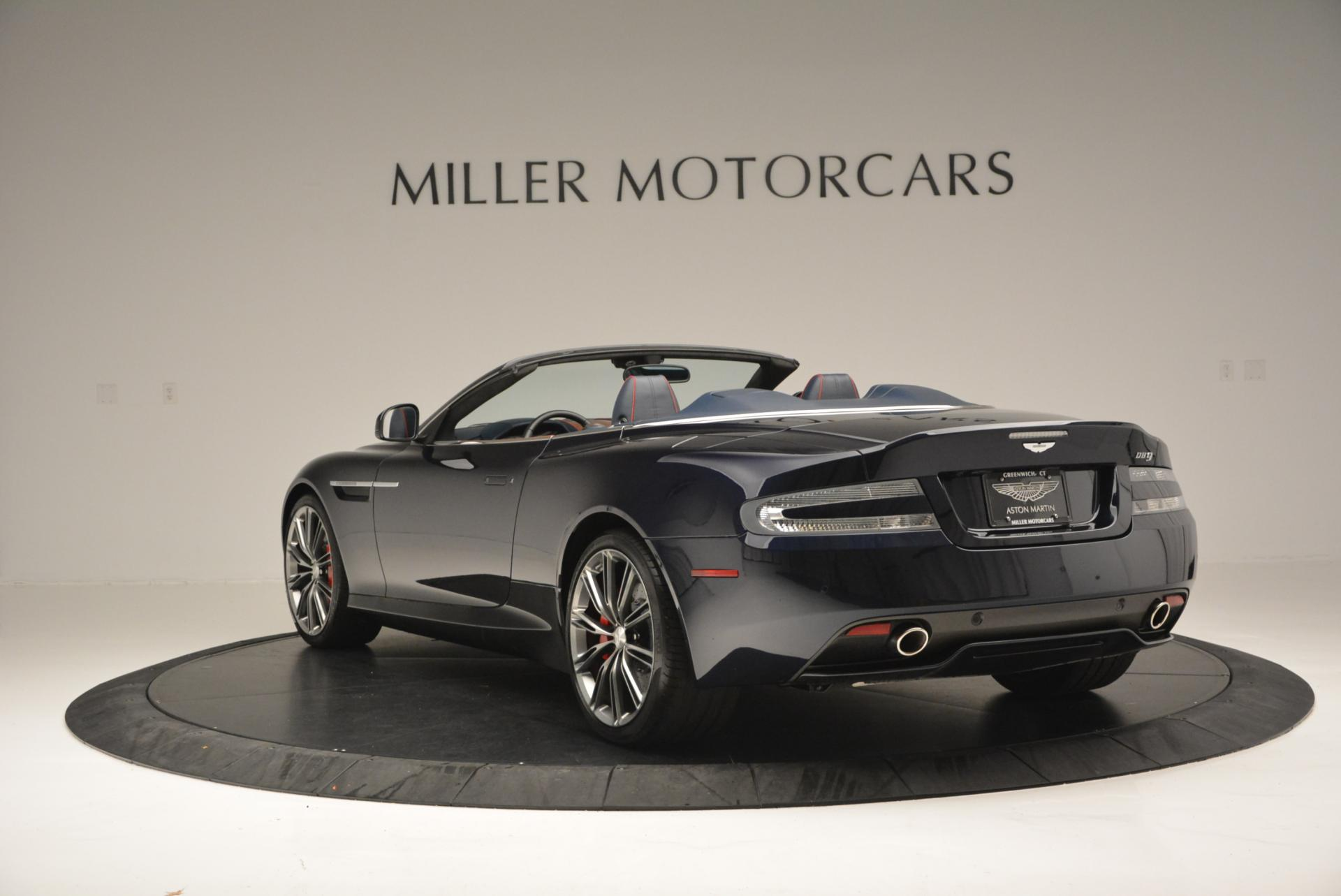 Used 2014 Aston Martin DB9 Volante For Sale In Westport, CT 519_p5