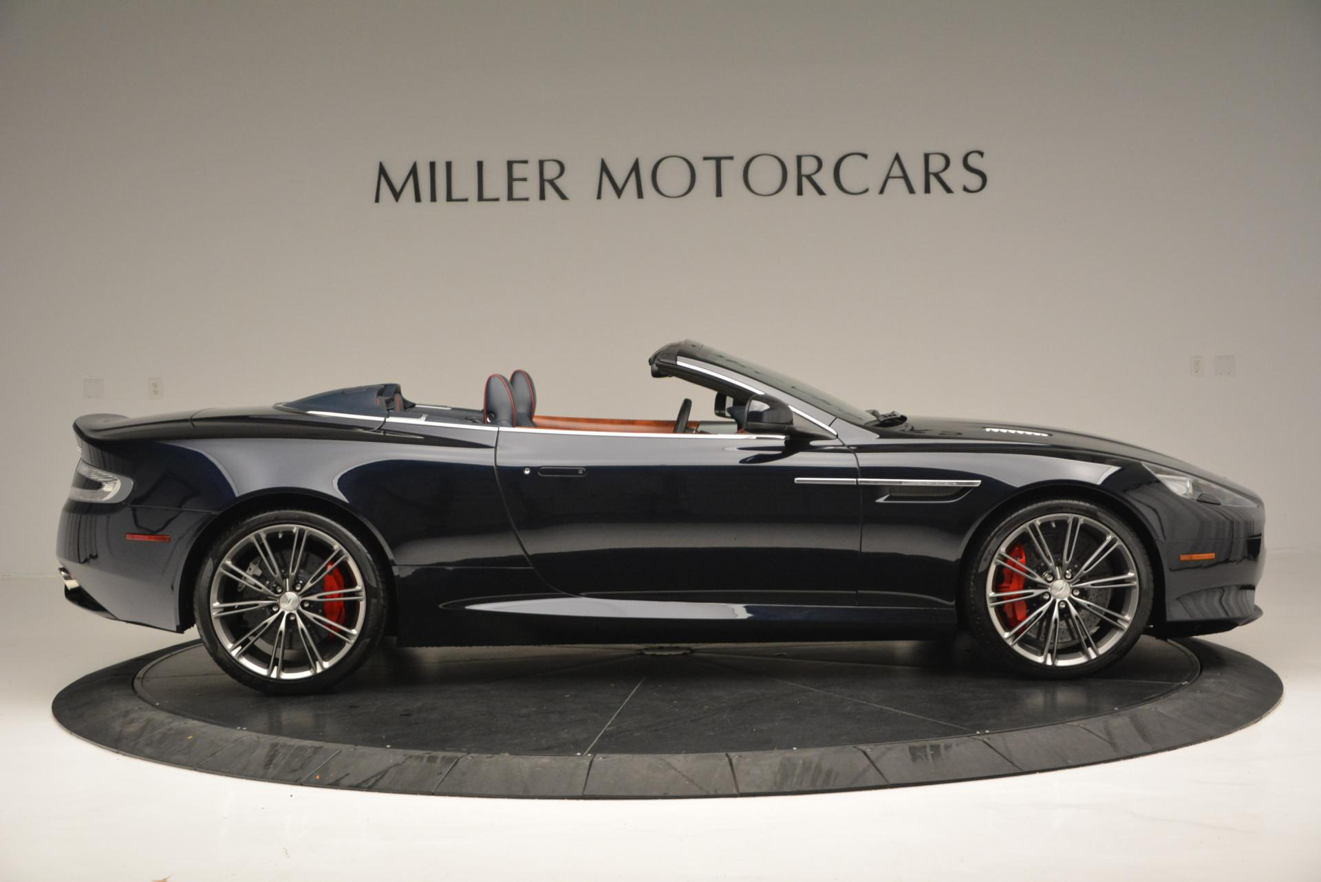 Used 2014 Aston Martin DB9 Volante For Sale In Westport, CT 519_p9