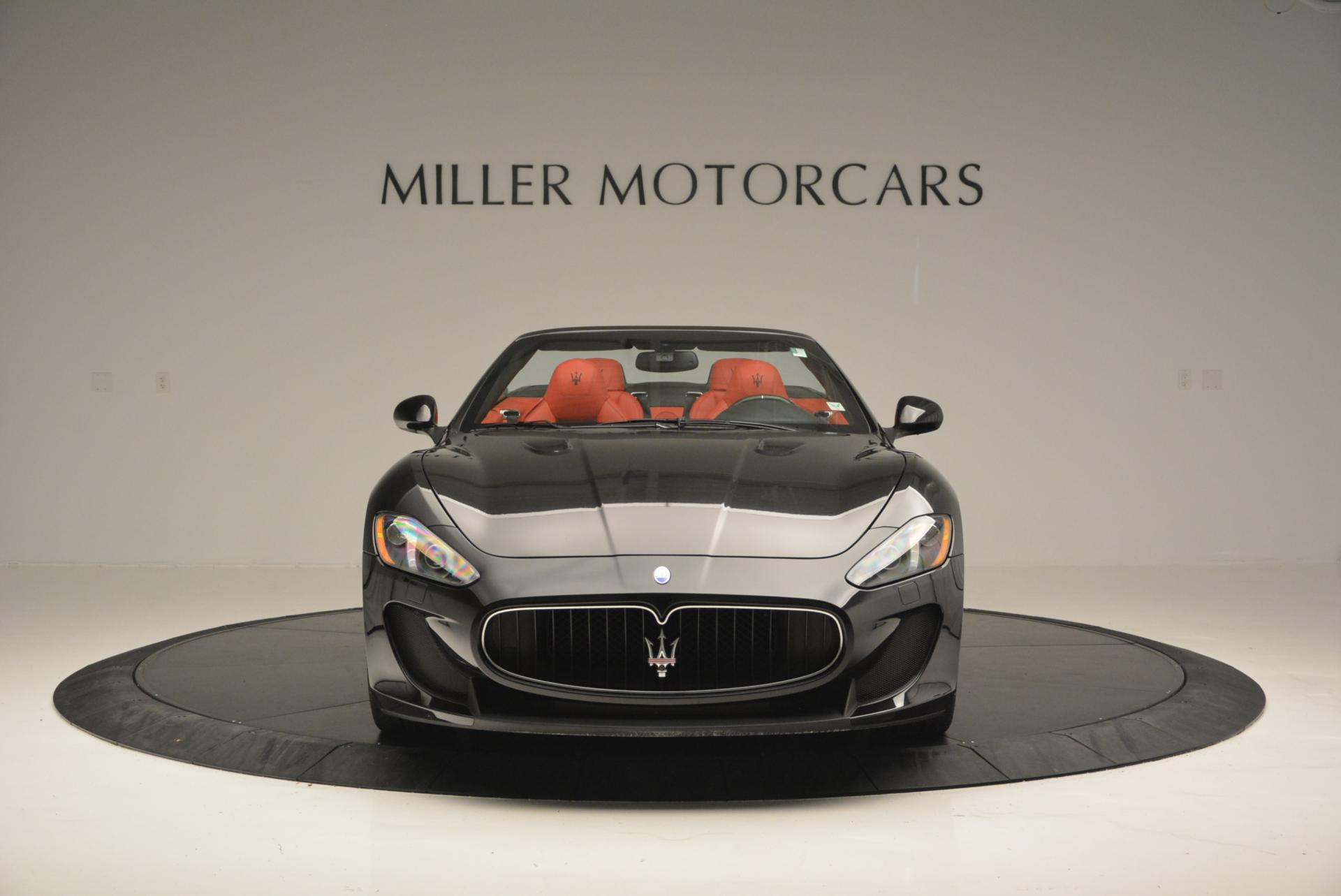 Used 2013 Maserati GranTurismo MC For Sale In Westport, CT 521_p12