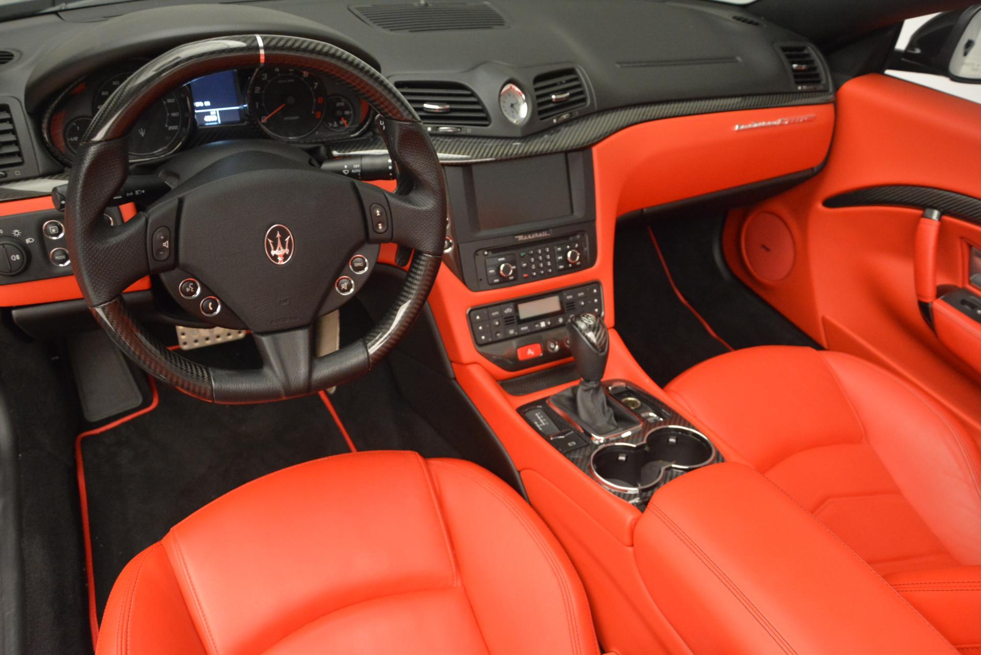 Used 2013 Maserati GranTurismo MC For Sale In Westport, CT 521_p22