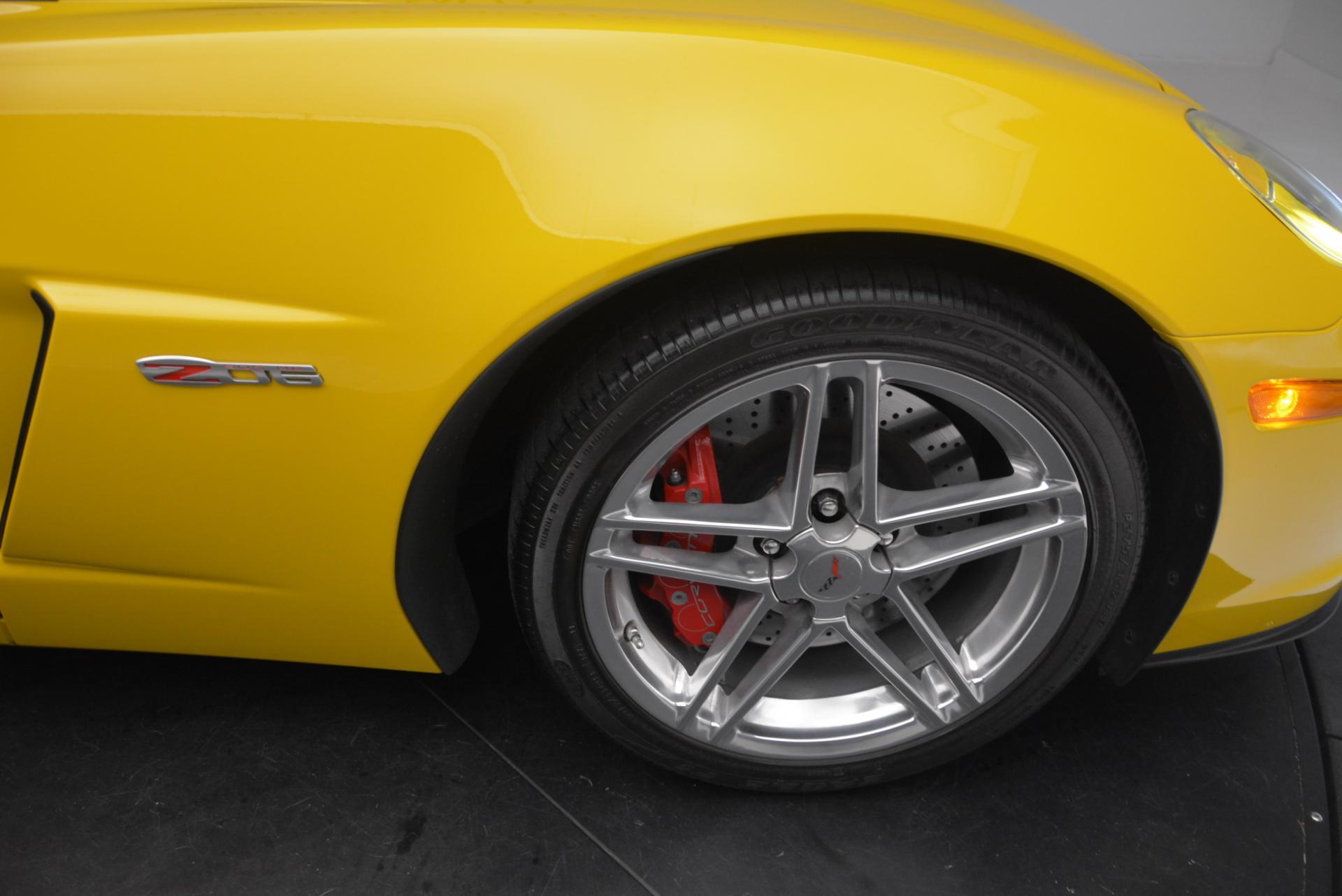 Used 2006 Chevrolet Corvette Z06 Hardtop For Sale In Westport, CT 530_p18