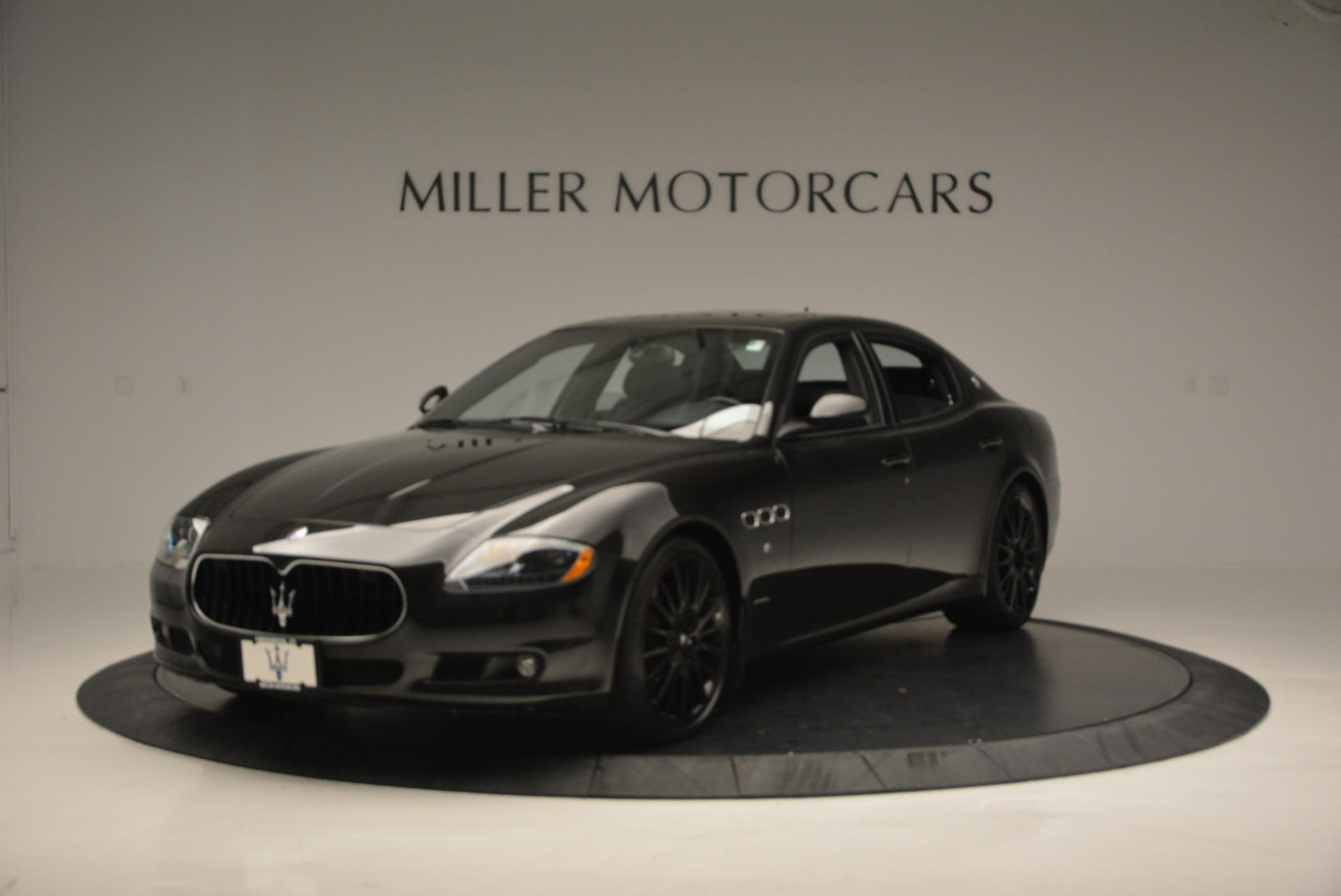 Used 2011 Maserati Quattroporte Sport GT S For Sale In Westport, CT 531_main