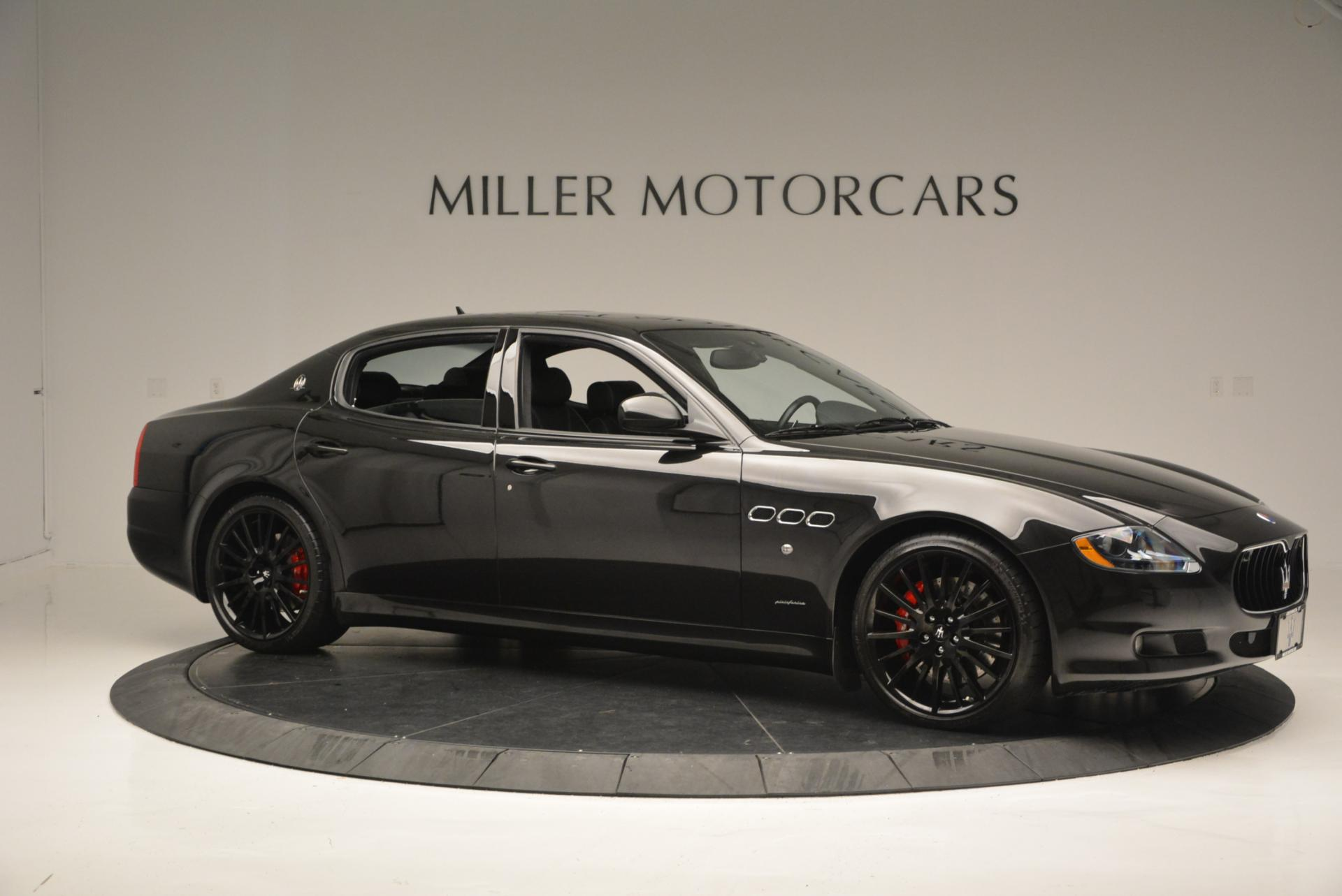 Used 2011 Maserati Quattroporte Sport GT S For Sale In Westport, CT 531_p10