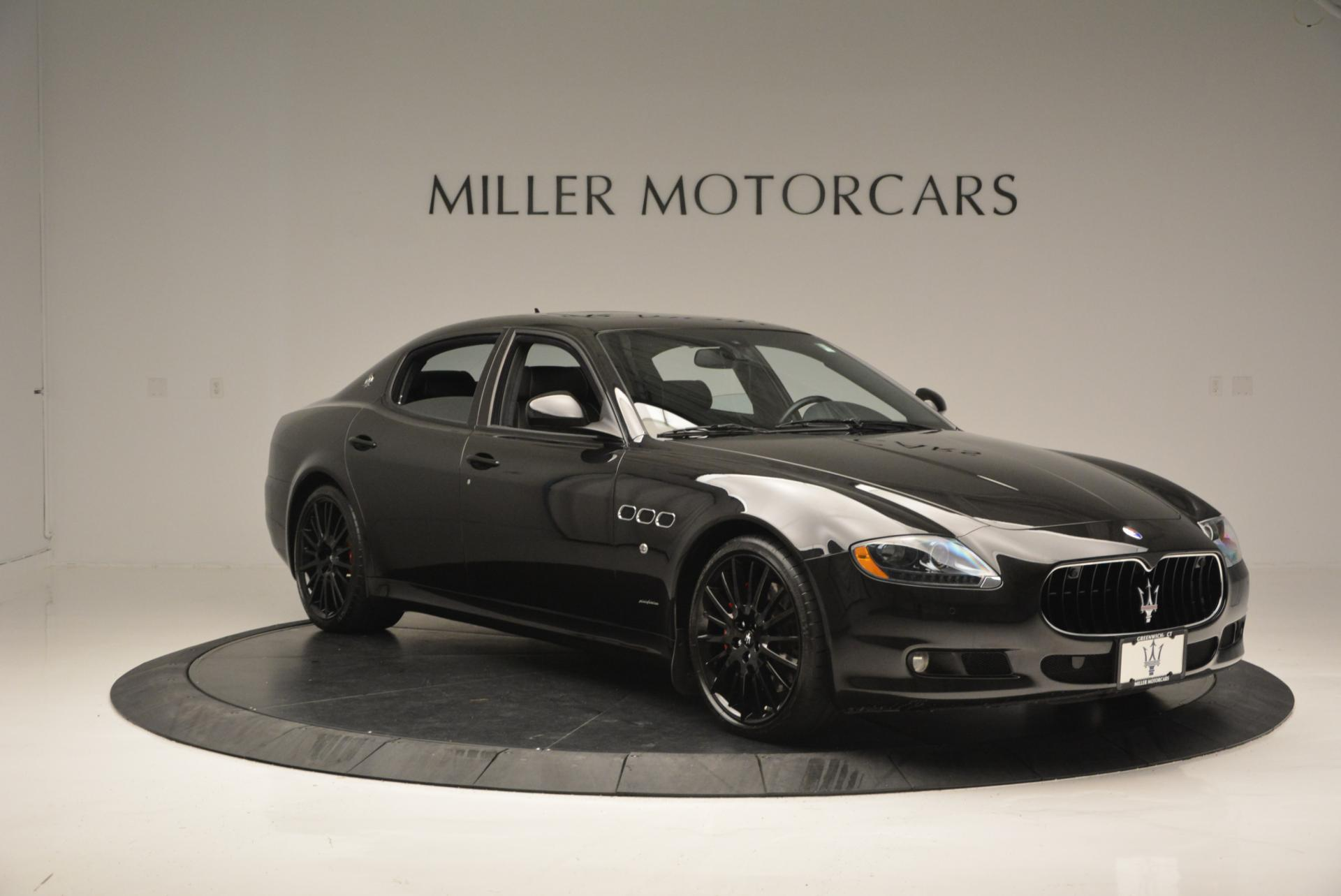 Used 2011 Maserati Quattroporte Sport GT S For Sale In Westport, CT 531_p11
