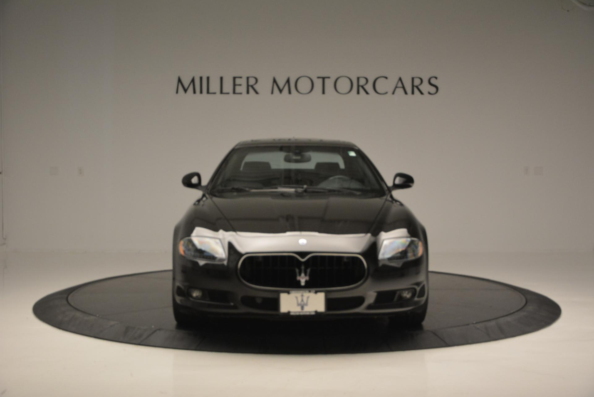 Used 2011 Maserati Quattroporte Sport GT S For Sale In Westport, CT 531_p12