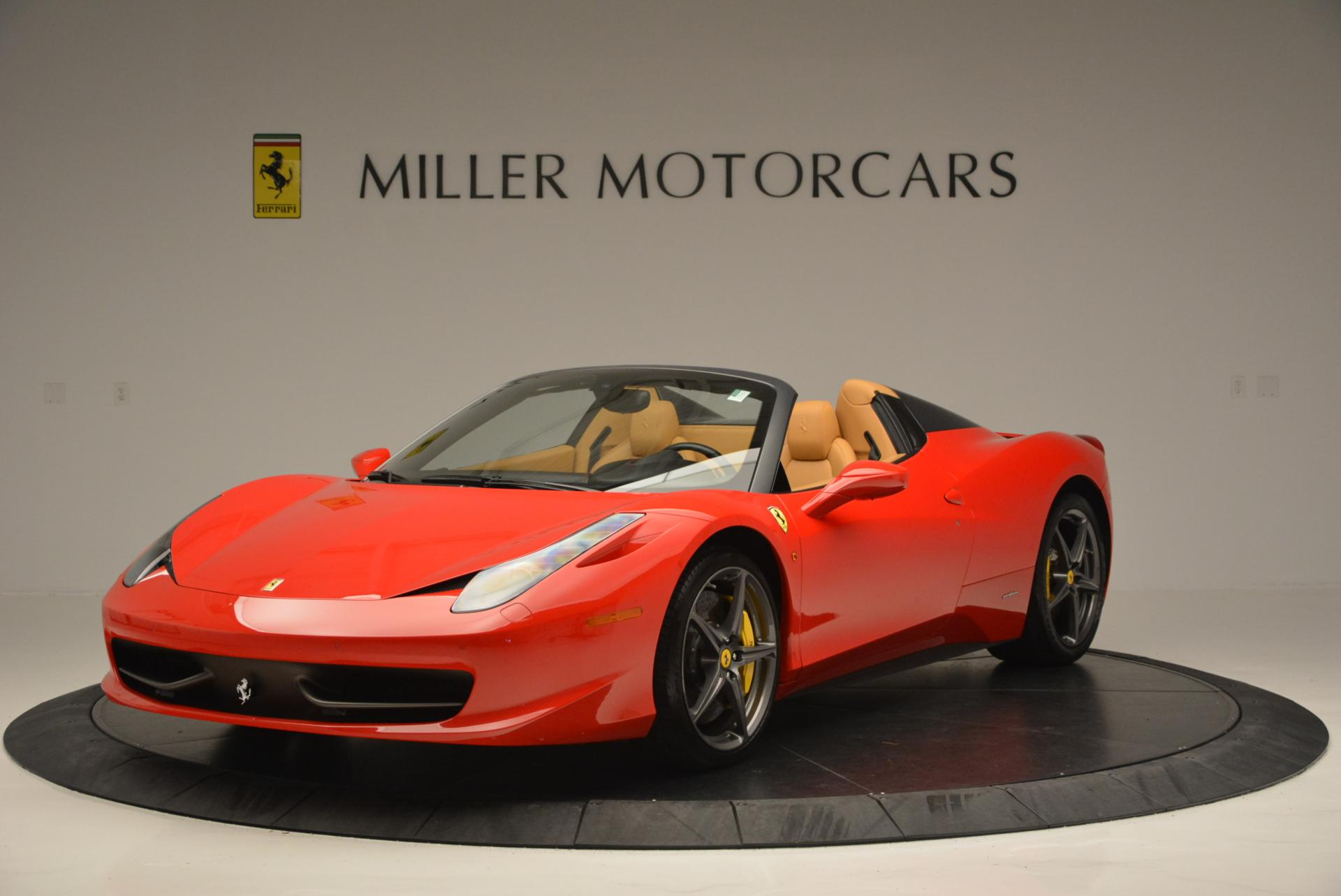 Used 2013 Ferrari 458 Spider  For Sale In Westport, CT 537_main