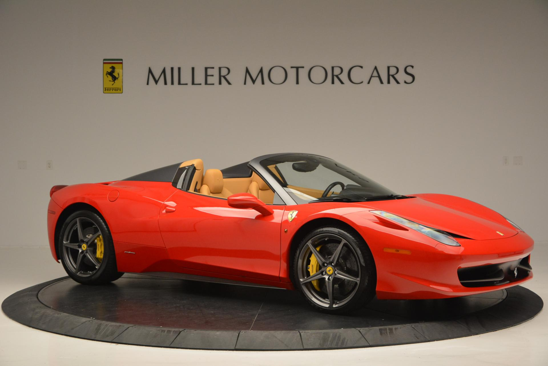 Used 2013 Ferrari 458 Spider  For Sale In Westport, CT 537_p10