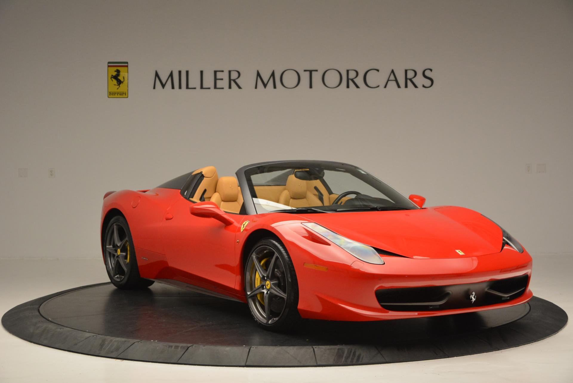 Used 2013 Ferrari 458 Spider  For Sale In Westport, CT 537_p11