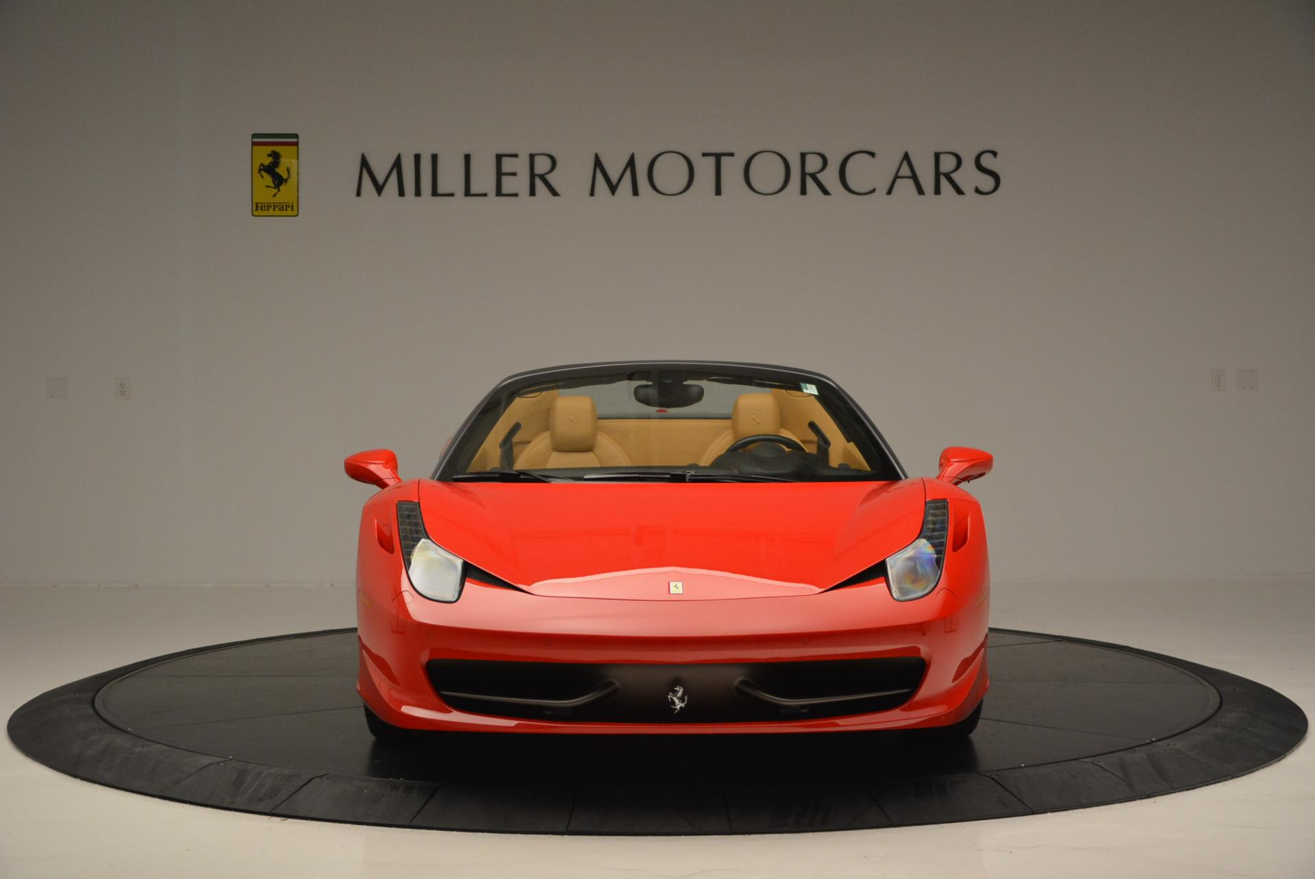 Used 2013 Ferrari 458 Spider  For Sale In Westport, CT 537_p12