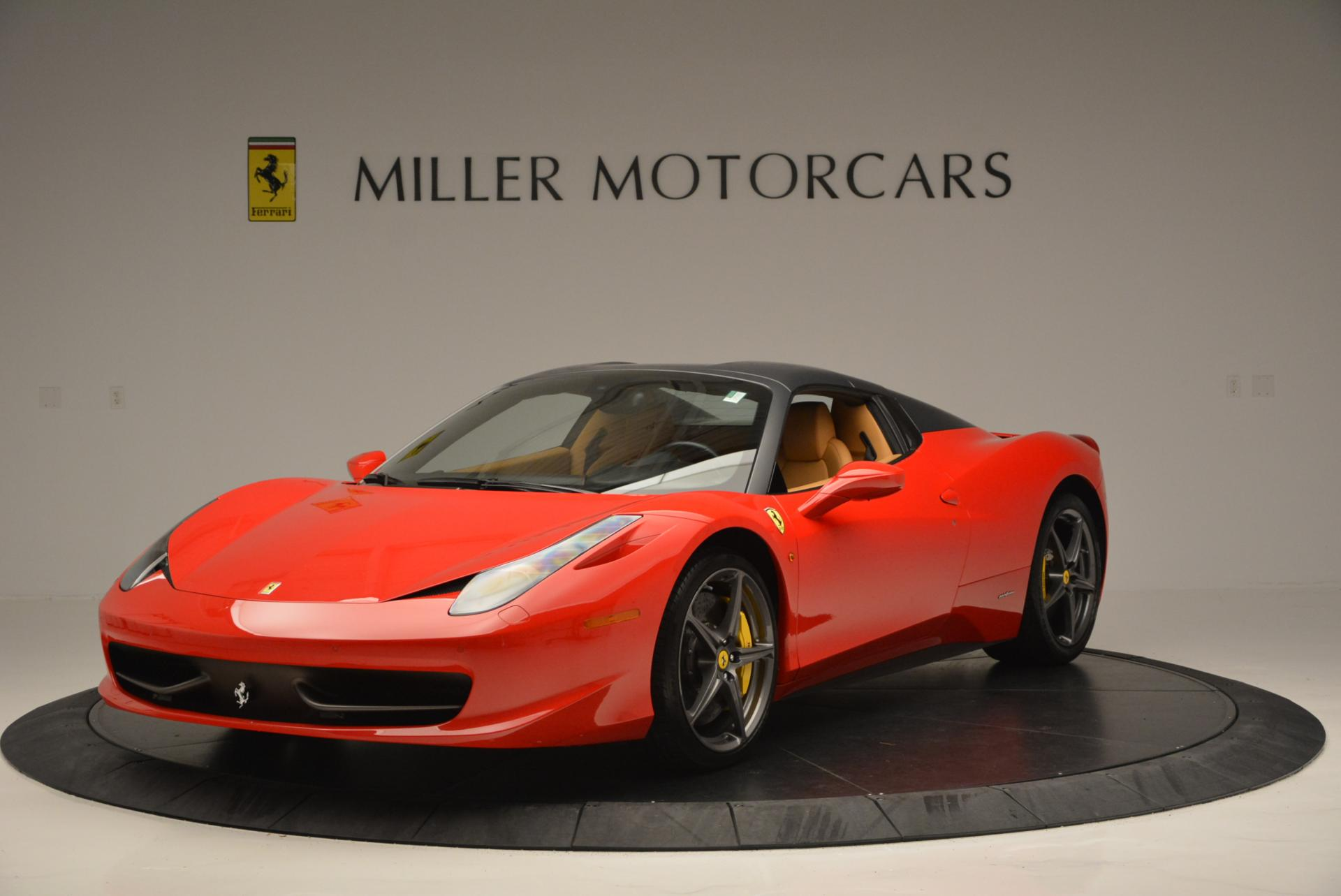 Used 2013 Ferrari 458 Spider  For Sale In Westport, CT 537_p13