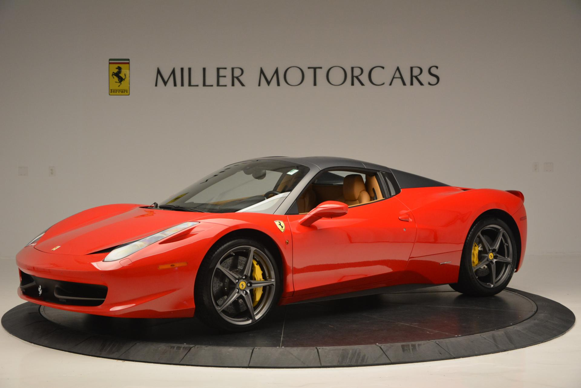 Used 2013 Ferrari 458 Spider  For Sale In Westport, CT 537_p14