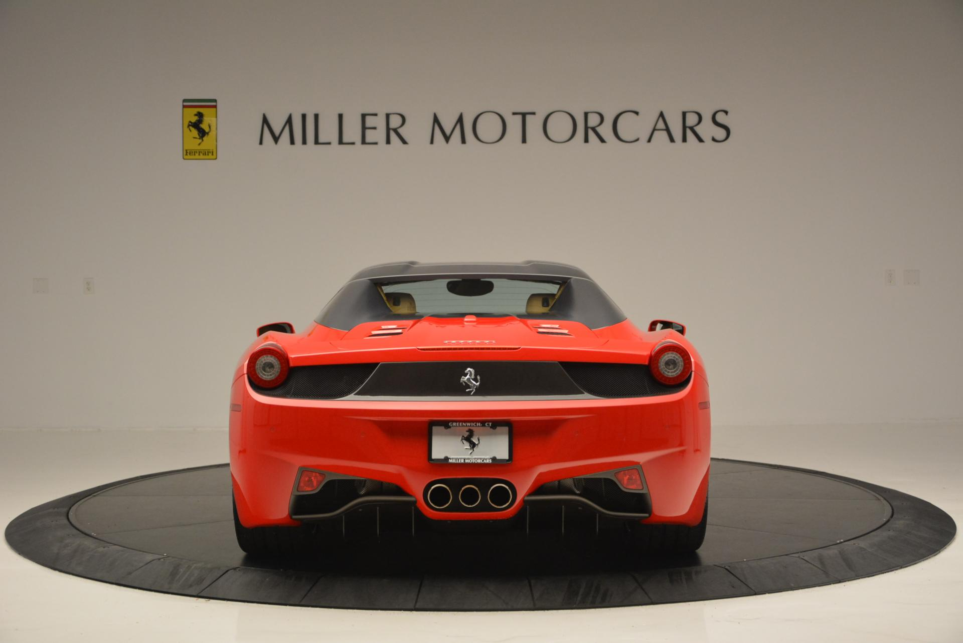 Used 2013 Ferrari 458 Spider  For Sale In Westport, CT 537_p18