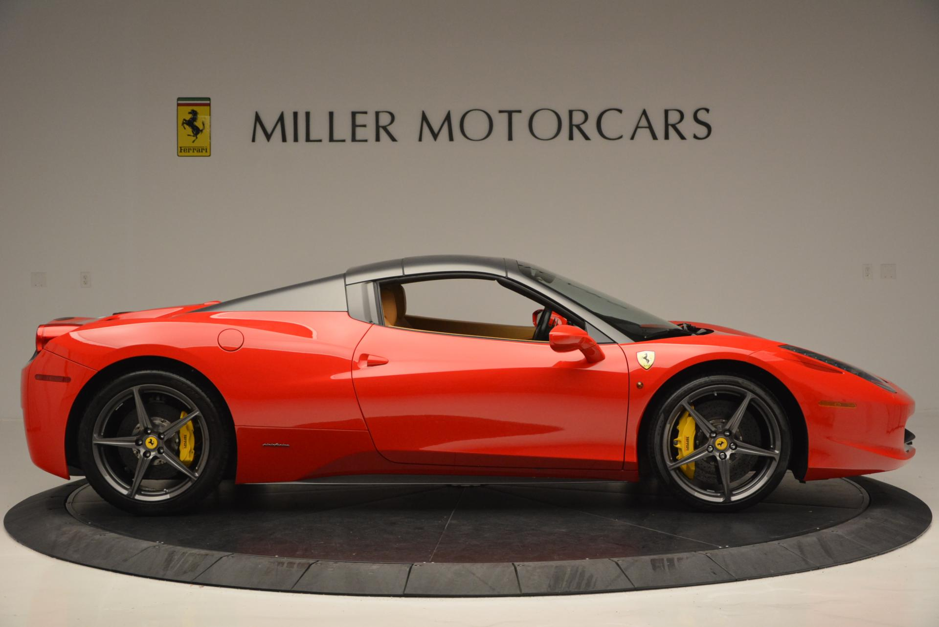 Used 2013 Ferrari 458 Spider  For Sale In Westport, CT 537_p21