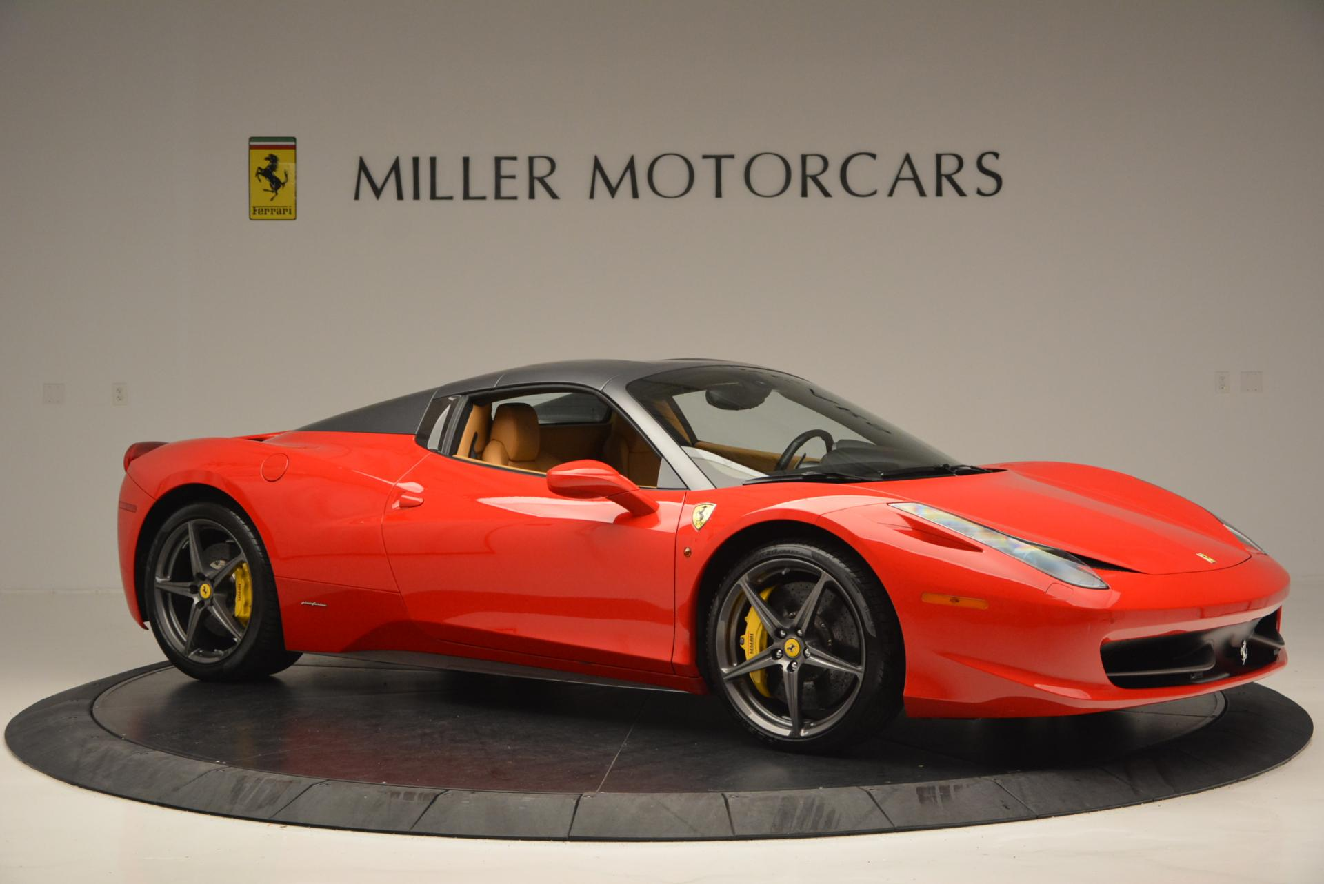 Used 2013 Ferrari 458 Spider  For Sale In Westport, CT 537_p22