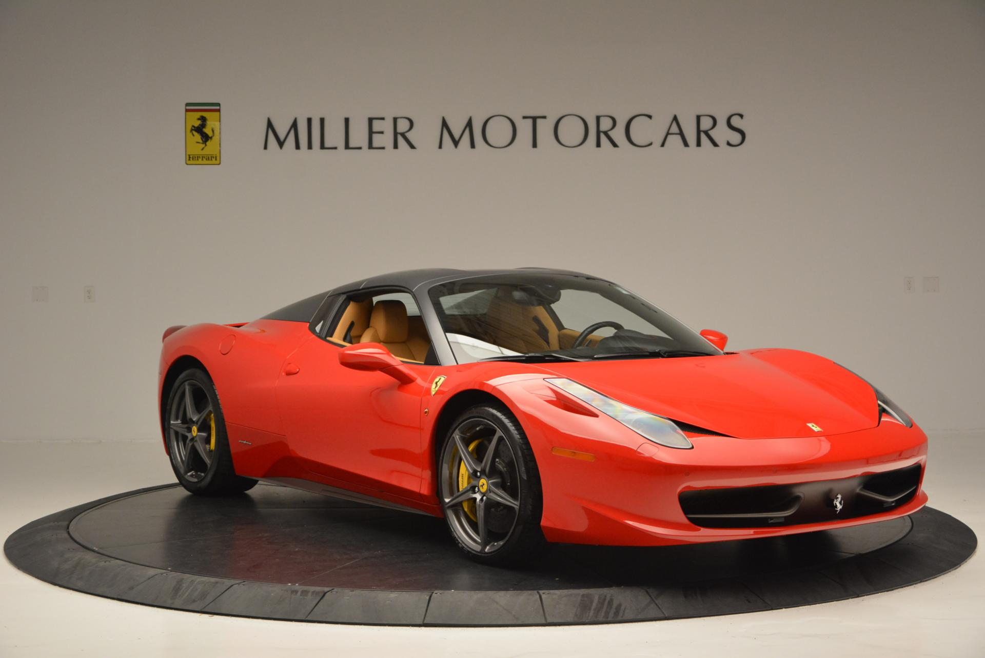 Used 2013 Ferrari 458 Spider  For Sale In Westport, CT 537_p23