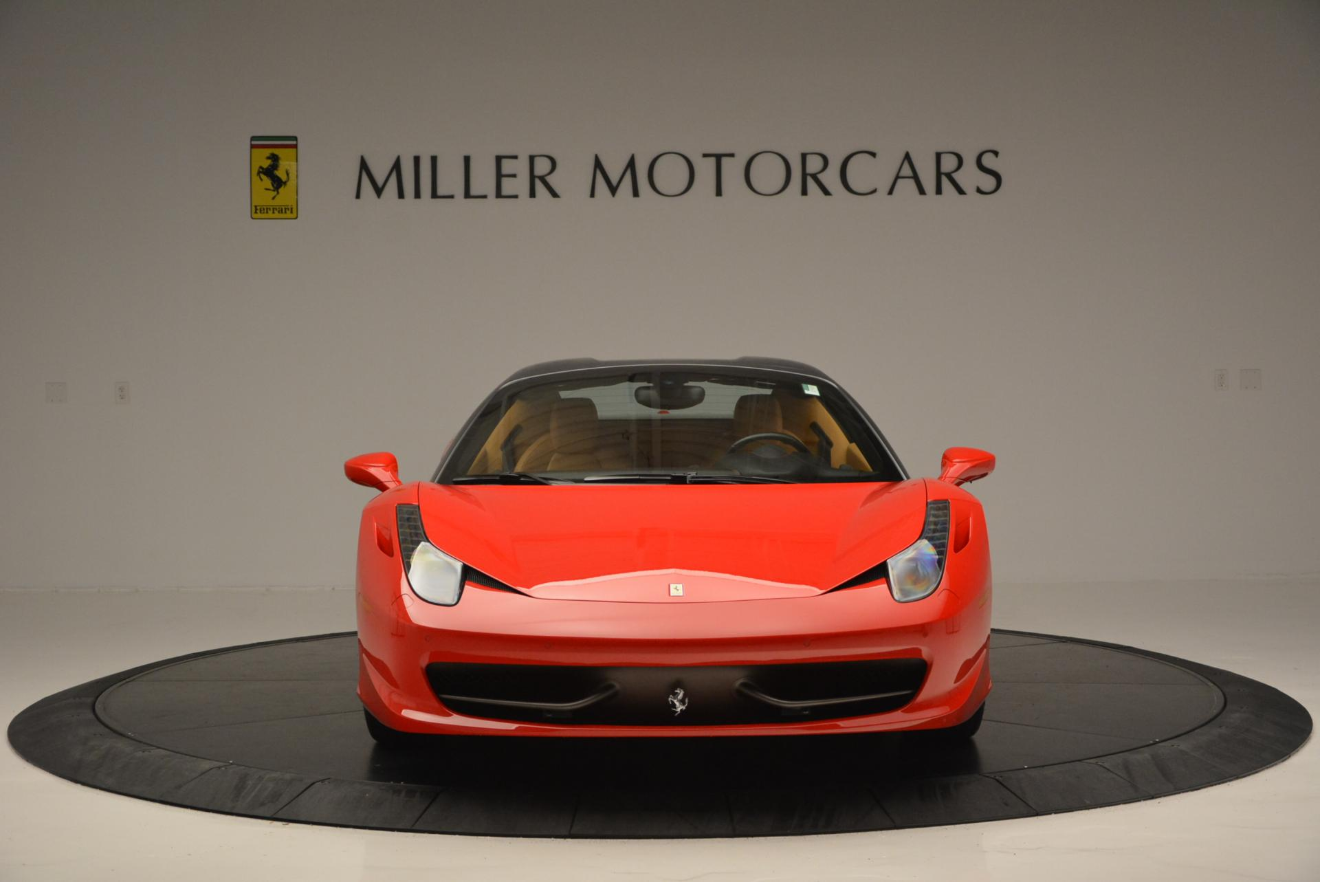 Used 2013 Ferrari 458 Spider  For Sale In Westport, CT 537_p24