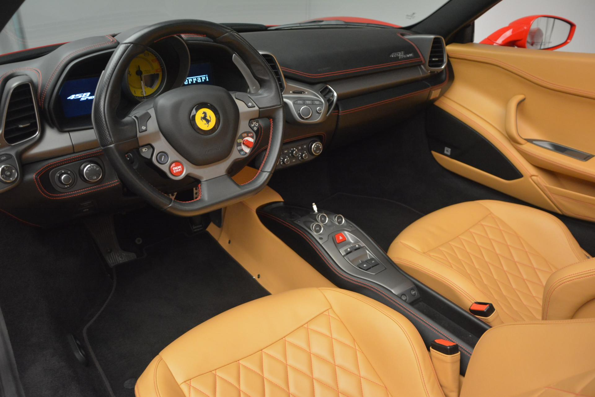 Used 2013 Ferrari 458 Spider  For Sale In Westport, CT 537_p25