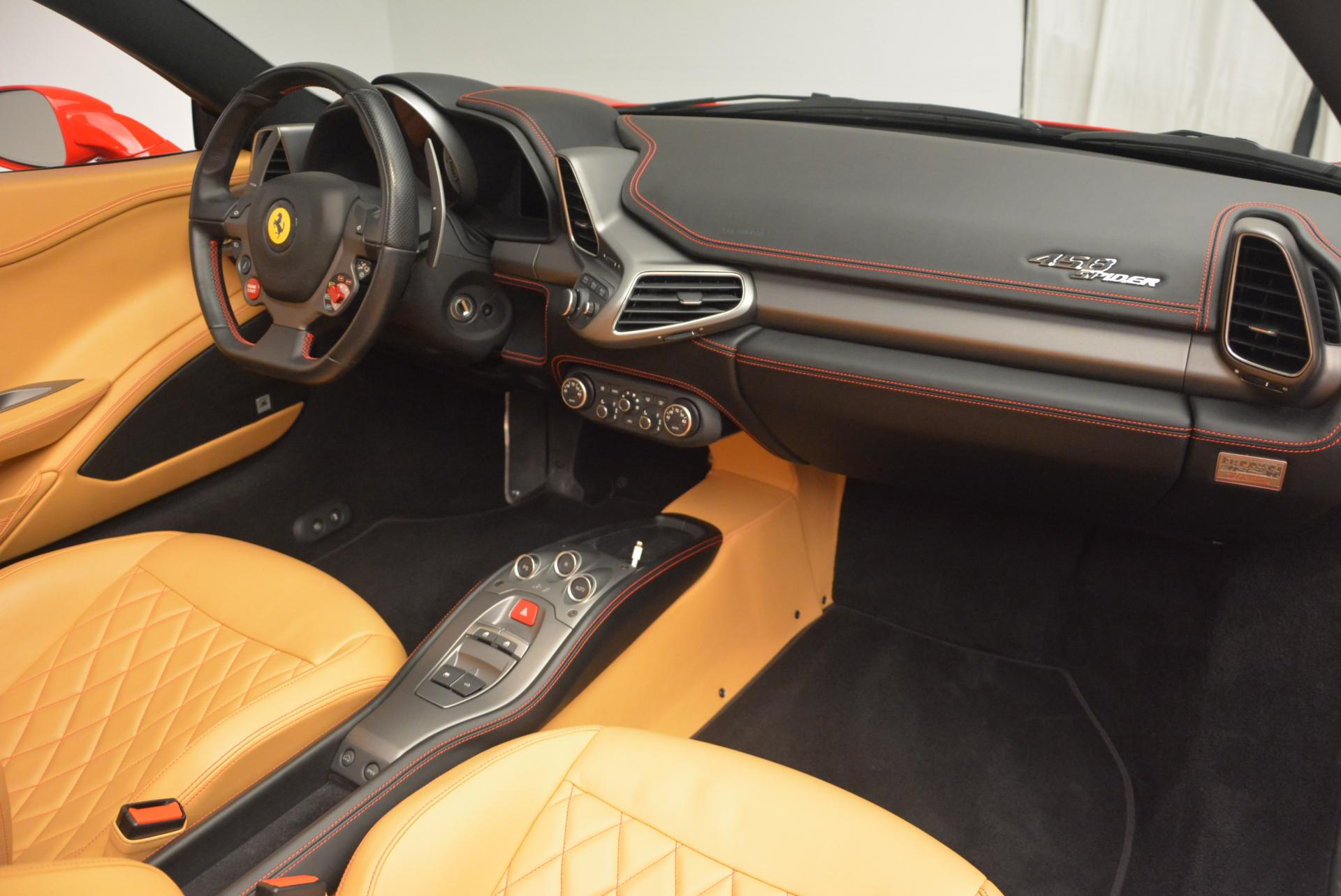 Used 2013 Ferrari 458 Spider  For Sale In Westport, CT 537_p29