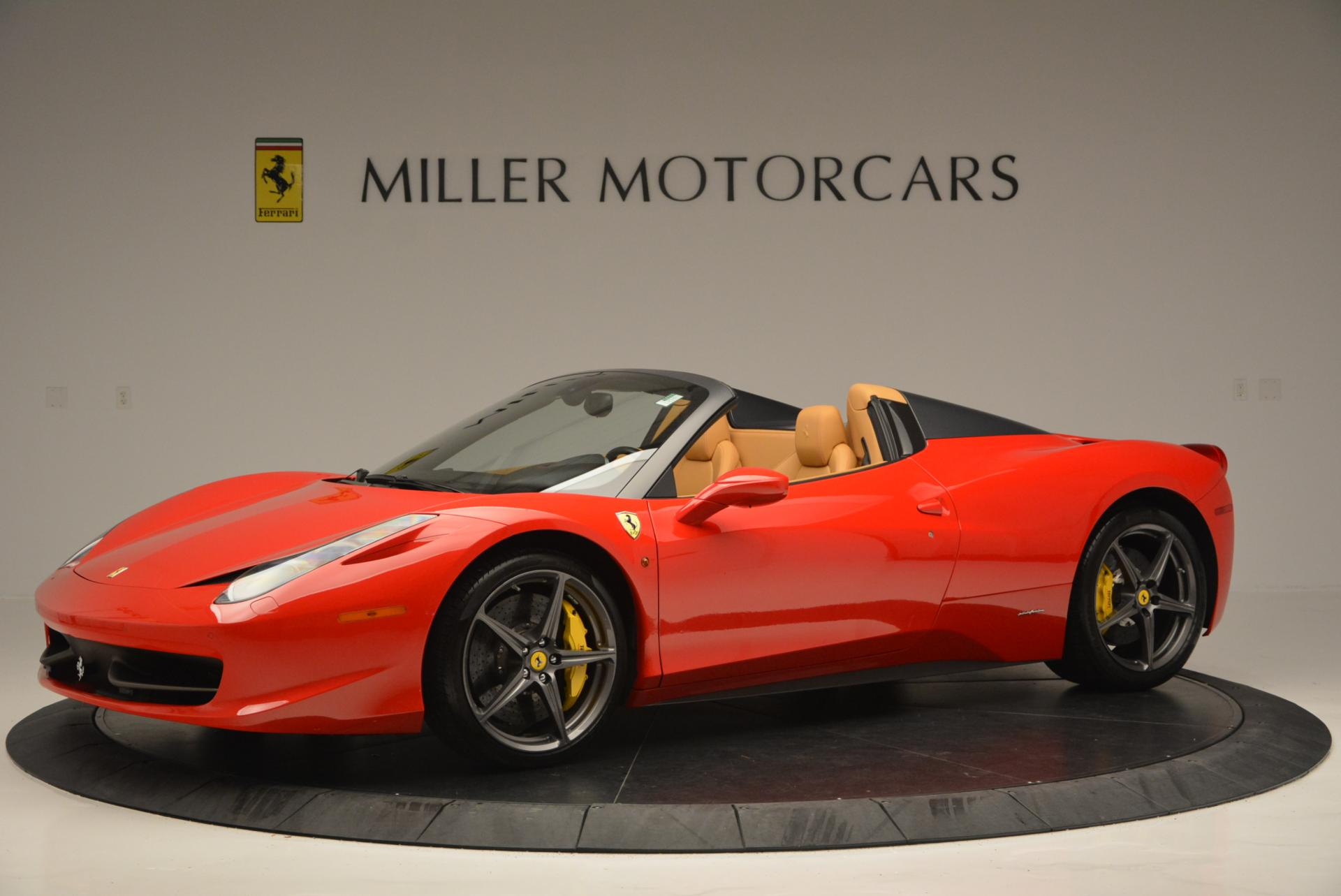 Used 2013 Ferrari 458 Spider  For Sale In Westport, CT 537_p2