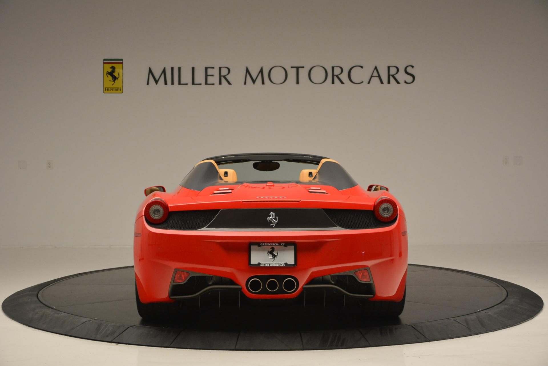 Used 2013 Ferrari 458 Spider  For Sale In Westport, CT 537_p6
