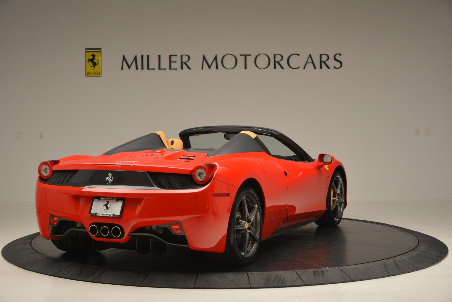 Used 2013 Ferrari 458 Spider  For Sale In Westport, CT 537_p7