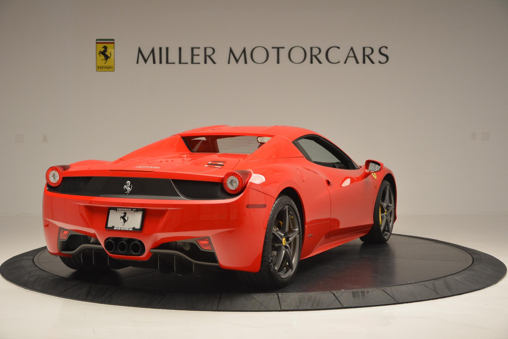 Used 2015 Ferrari 458 Spider  For Sale In Westport, CT 542_p19