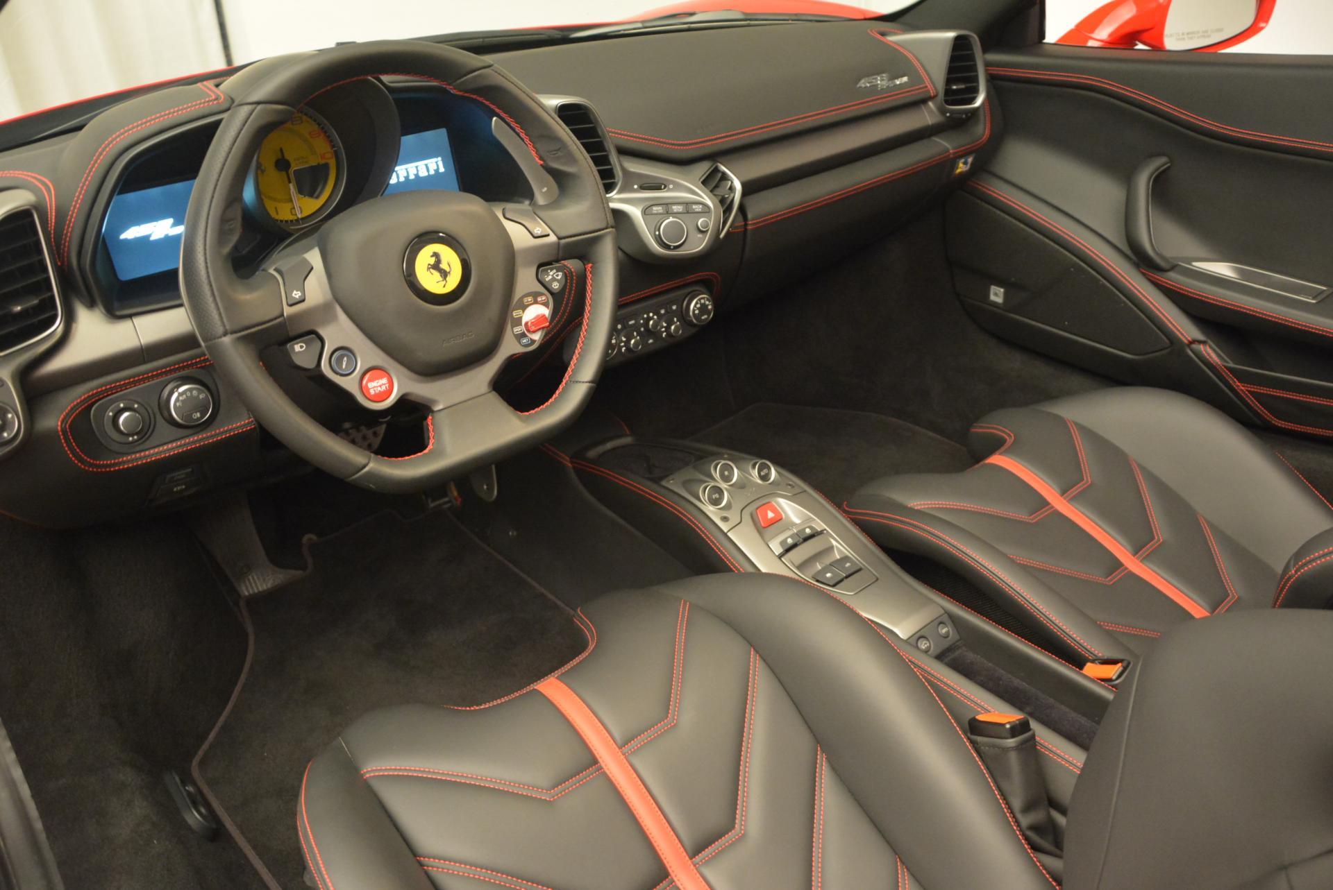 Used 2015 Ferrari 458 Spider  For Sale In Westport, CT 542_p25