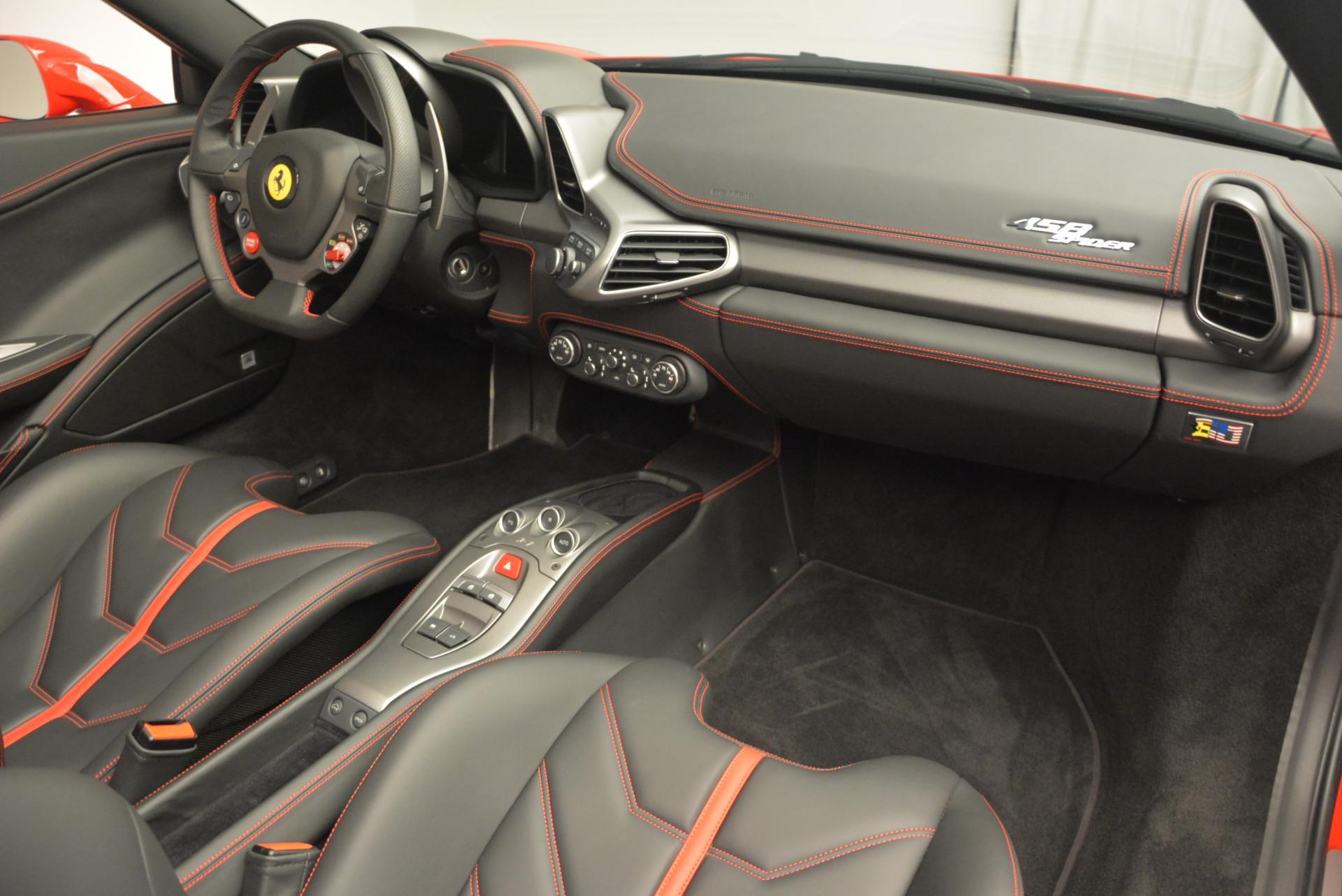 Used 2015 Ferrari 458 Spider  For Sale In Westport, CT 542_p28
