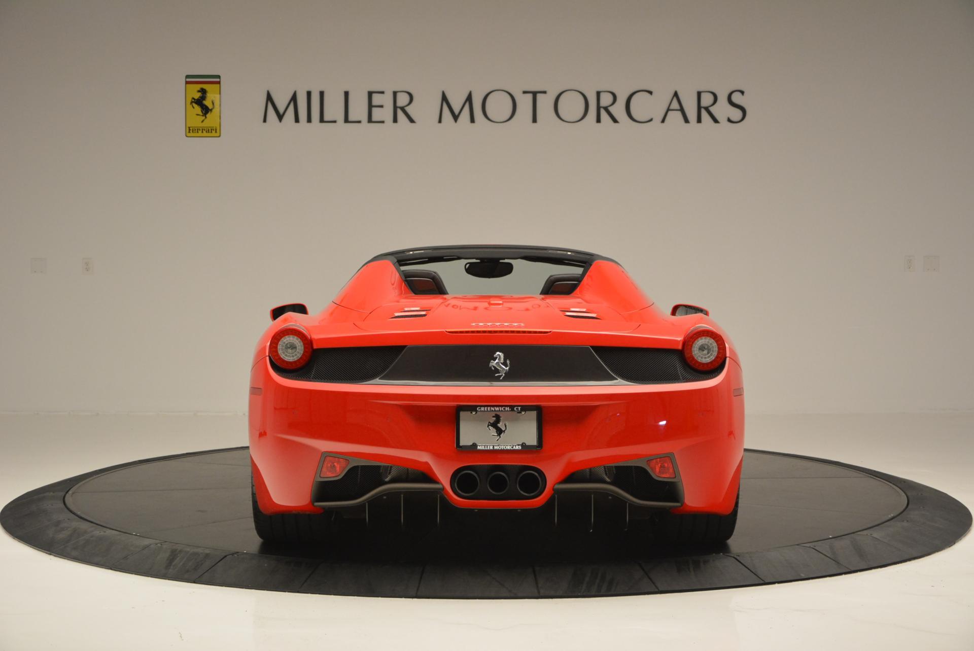 Used 2015 Ferrari 458 Spider  For Sale In Westport, CT 542_p6