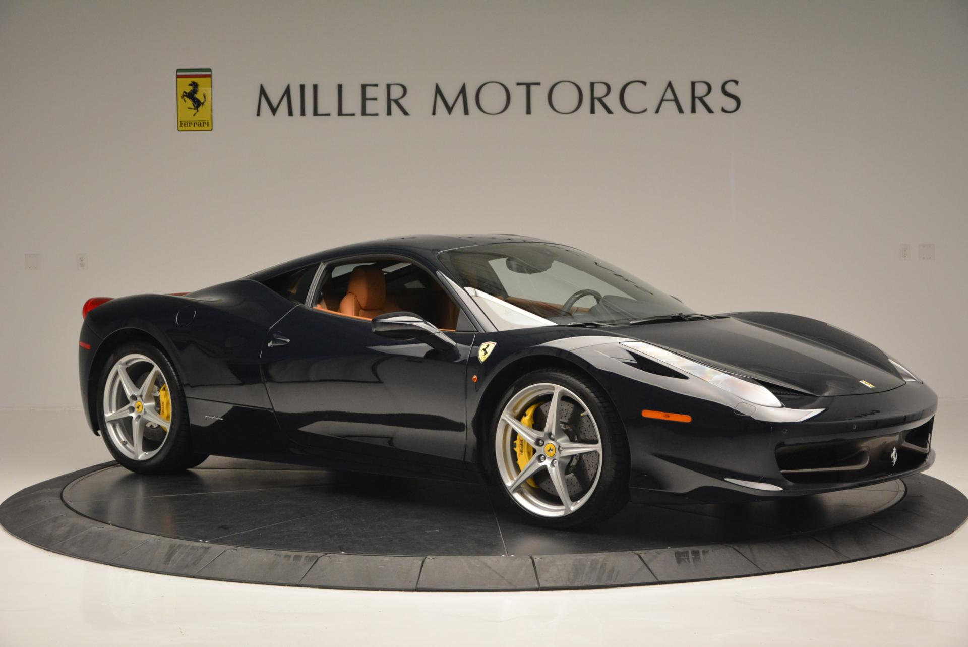 Used 2010 Ferrari 458 Italia  For Sale In Westport, CT 543_p10