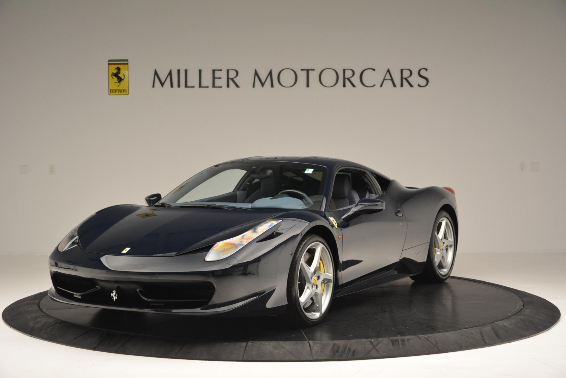 Used 2012 Ferrari 458 Italia  For Sale In Westport, CT 550_main
