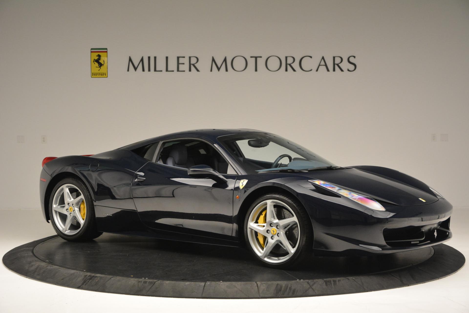 Used 2012 Ferrari 458 Italia  For Sale In Westport, CT 550_p10