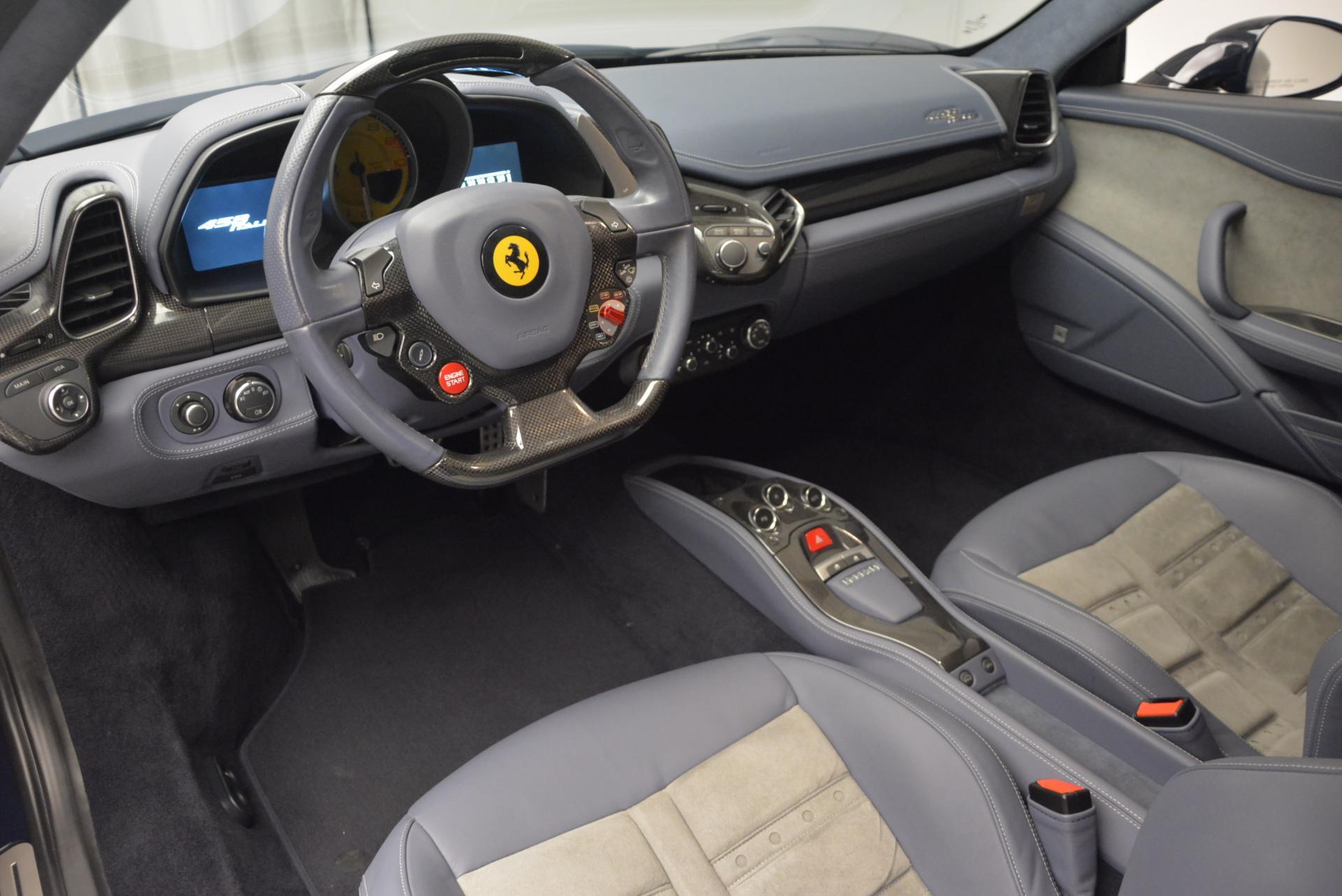 Used 2012 Ferrari 458 Italia  For Sale In Westport, CT 550_p13