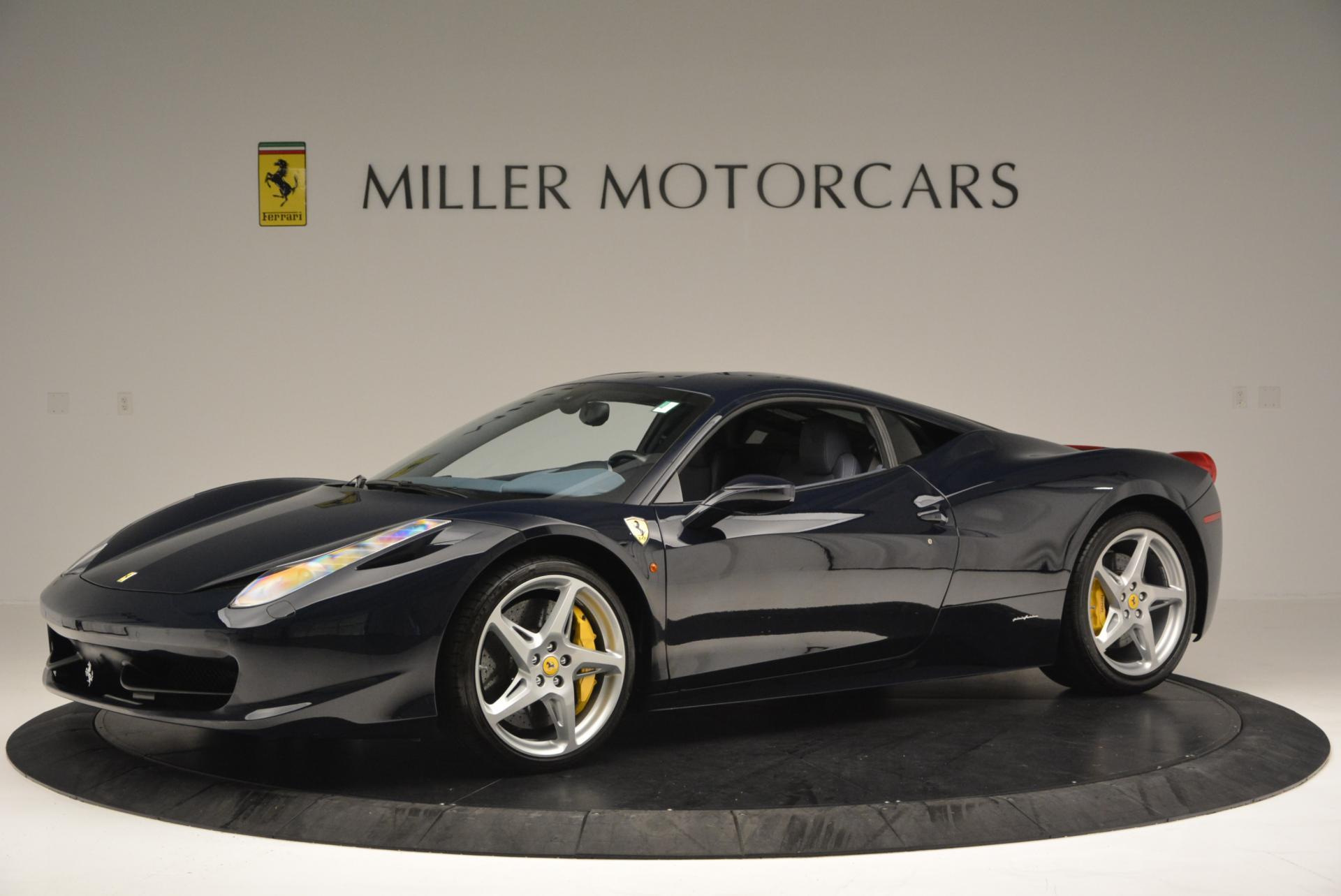 Used 2012 Ferrari 458 Italia  For Sale In Westport, CT 550_p2