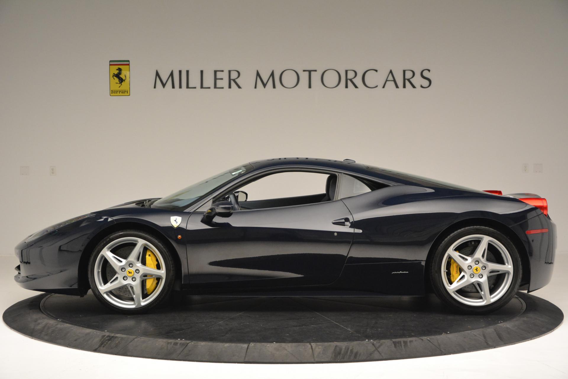 Used 2012 Ferrari 458 Italia  For Sale In Westport, CT 550_p3