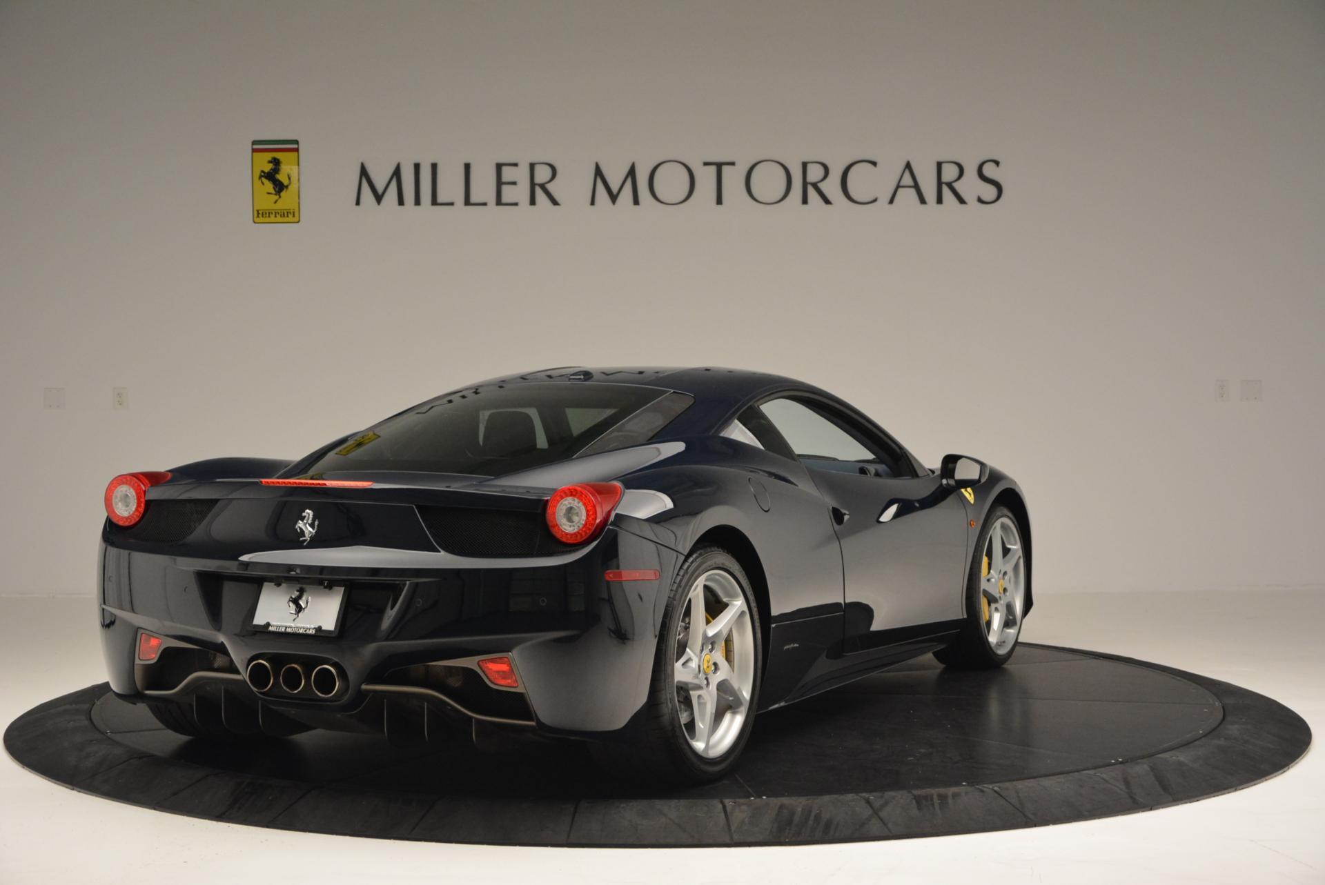 Used 2012 Ferrari 458 Italia  For Sale In Westport, CT 550_p7