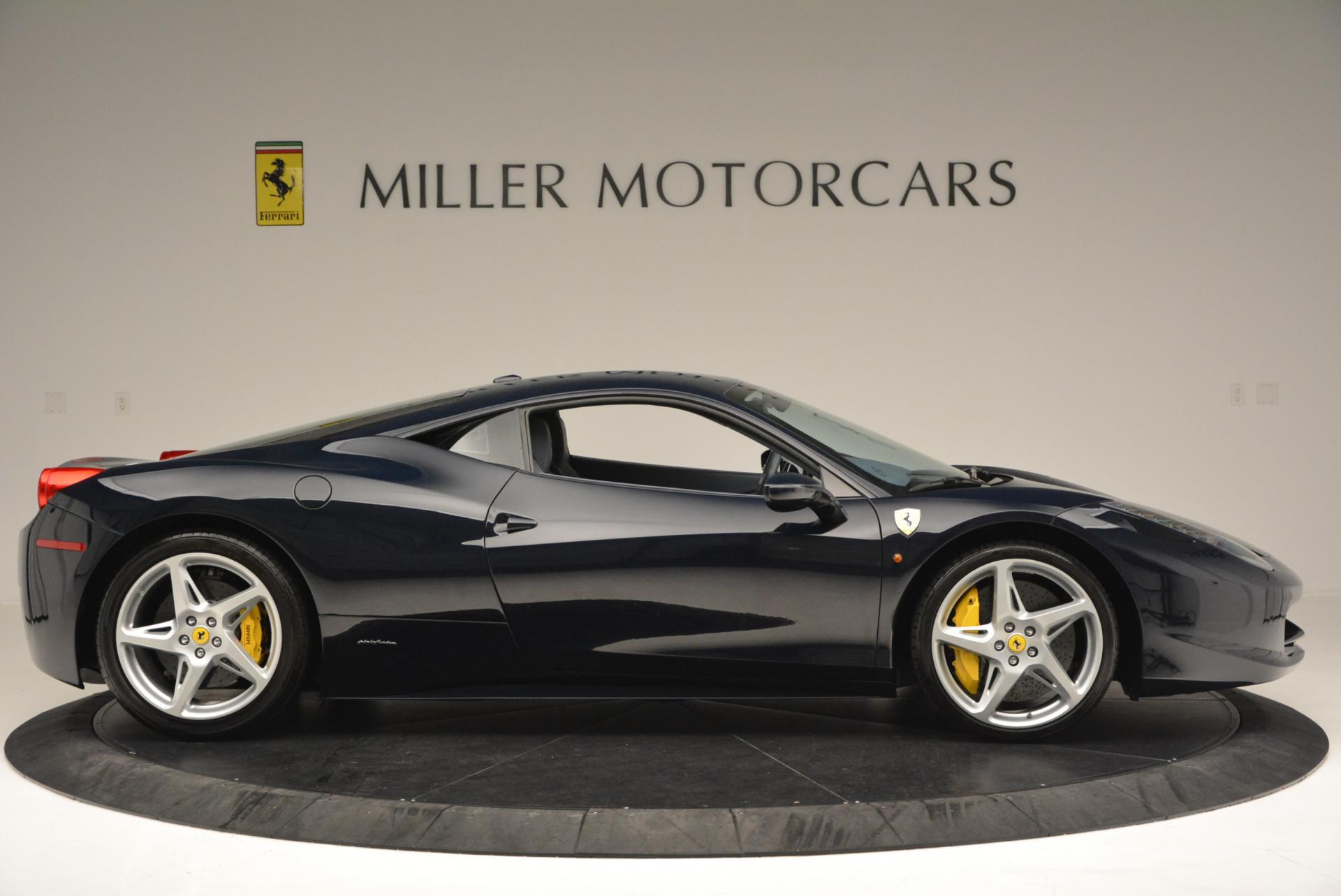 Used 2012 Ferrari 458 Italia  For Sale In Westport, CT 550_p9