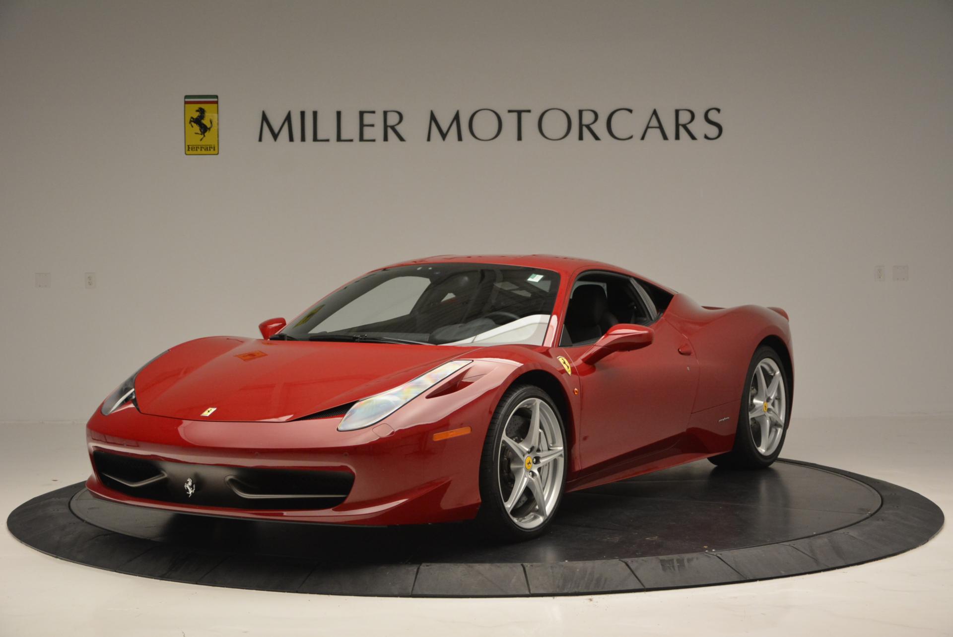 Used 2011 Ferrari 458 Italia  For Sale In Westport, CT 551_main