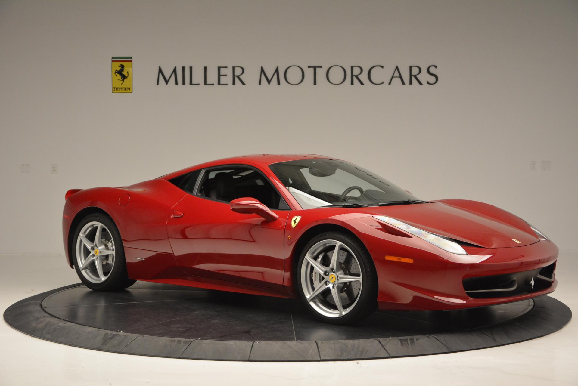 Used 2011 Ferrari 458 Italia  For Sale In Westport, CT 551_p10