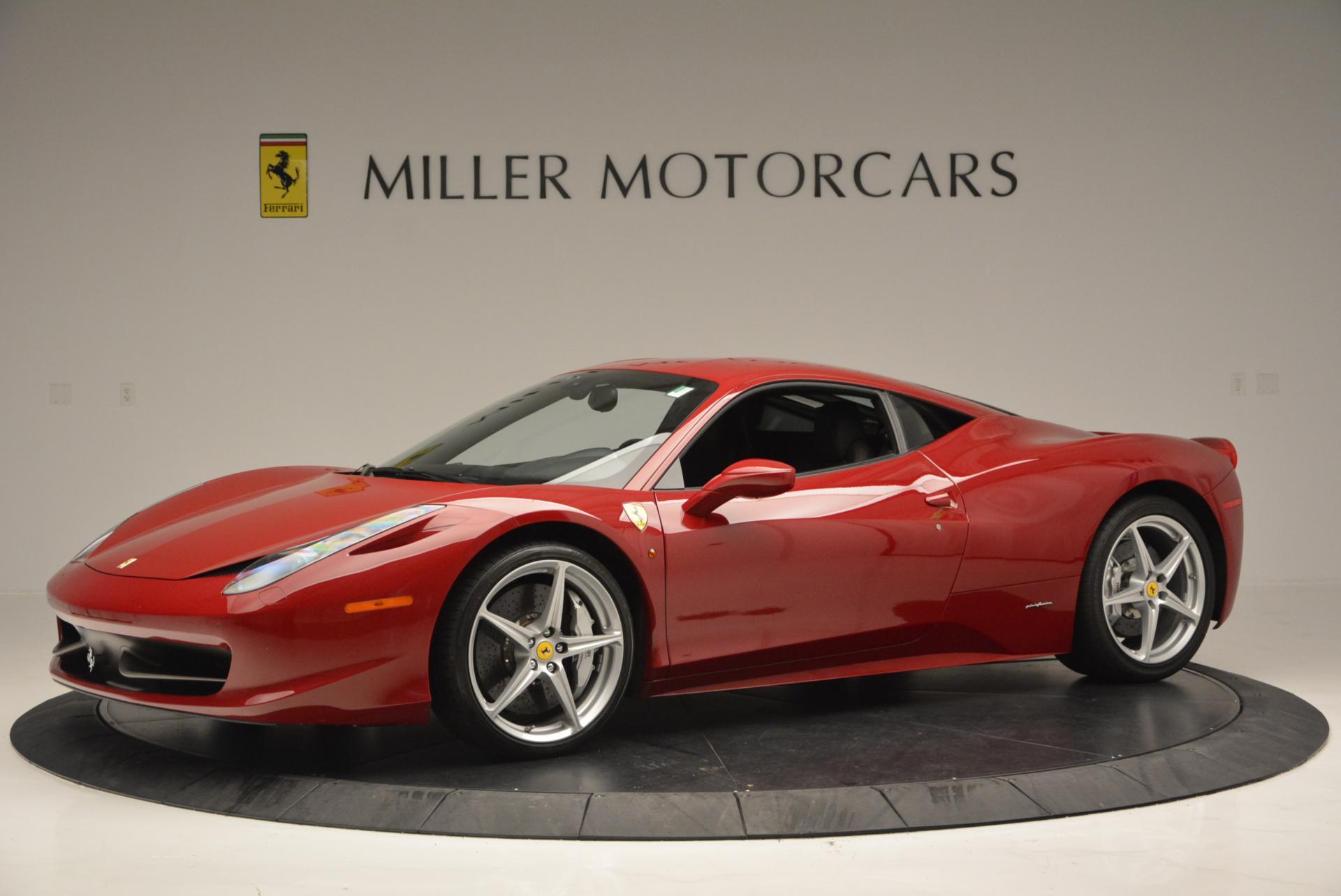 Used 2011 Ferrari 458 Italia  For Sale In Westport, CT 551_p2