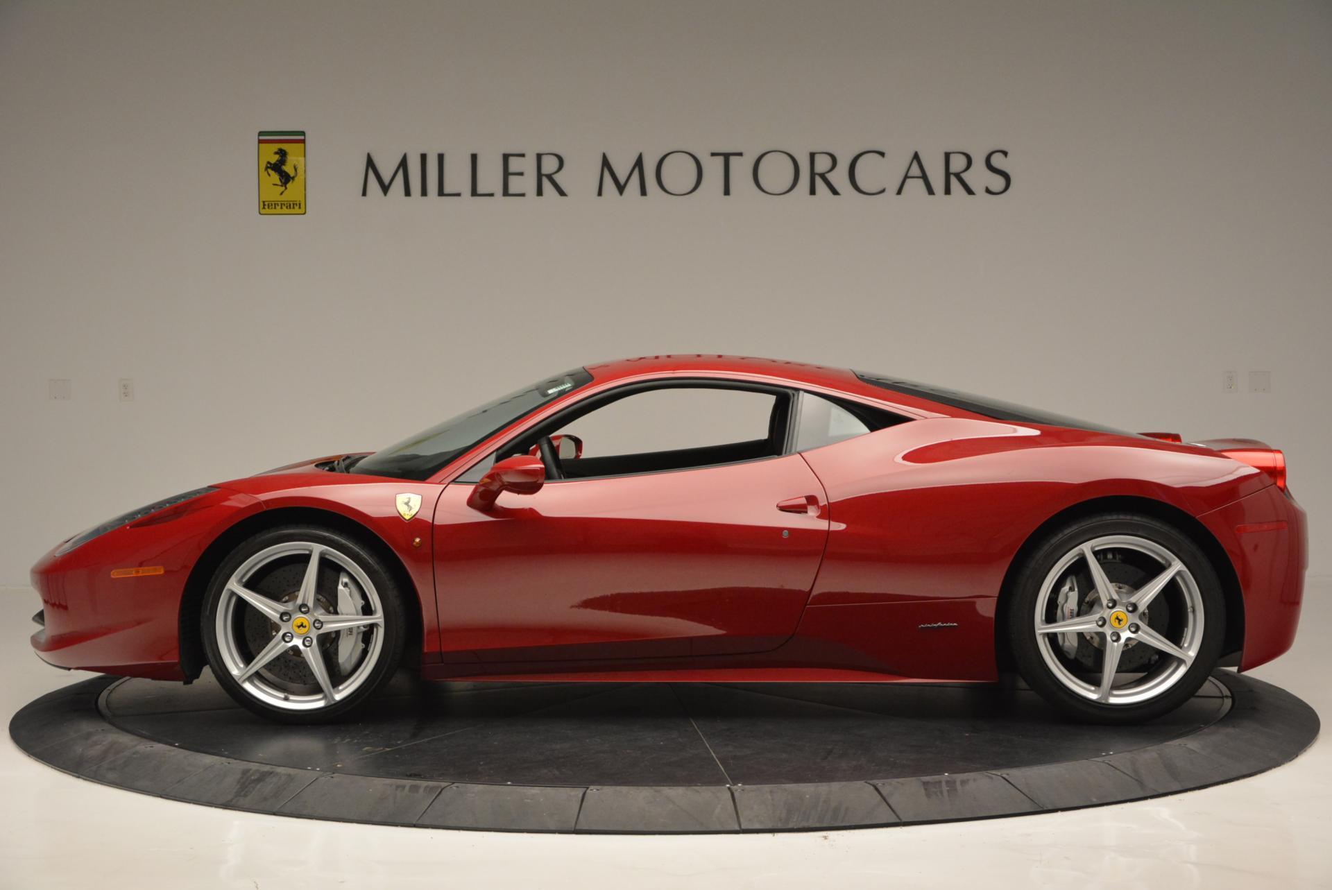 Used 2011 Ferrari 458 Italia  For Sale In Westport, CT 551_p3
