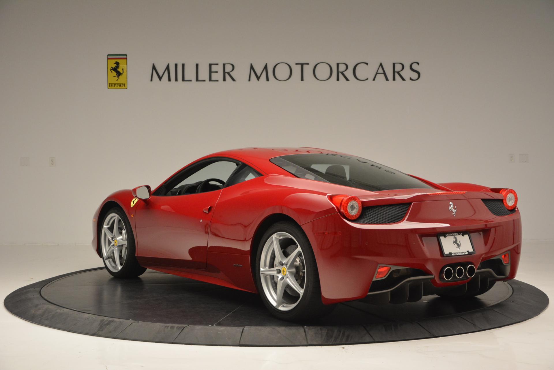Used 2011 Ferrari 458 Italia  For Sale In Westport, CT 551_p5