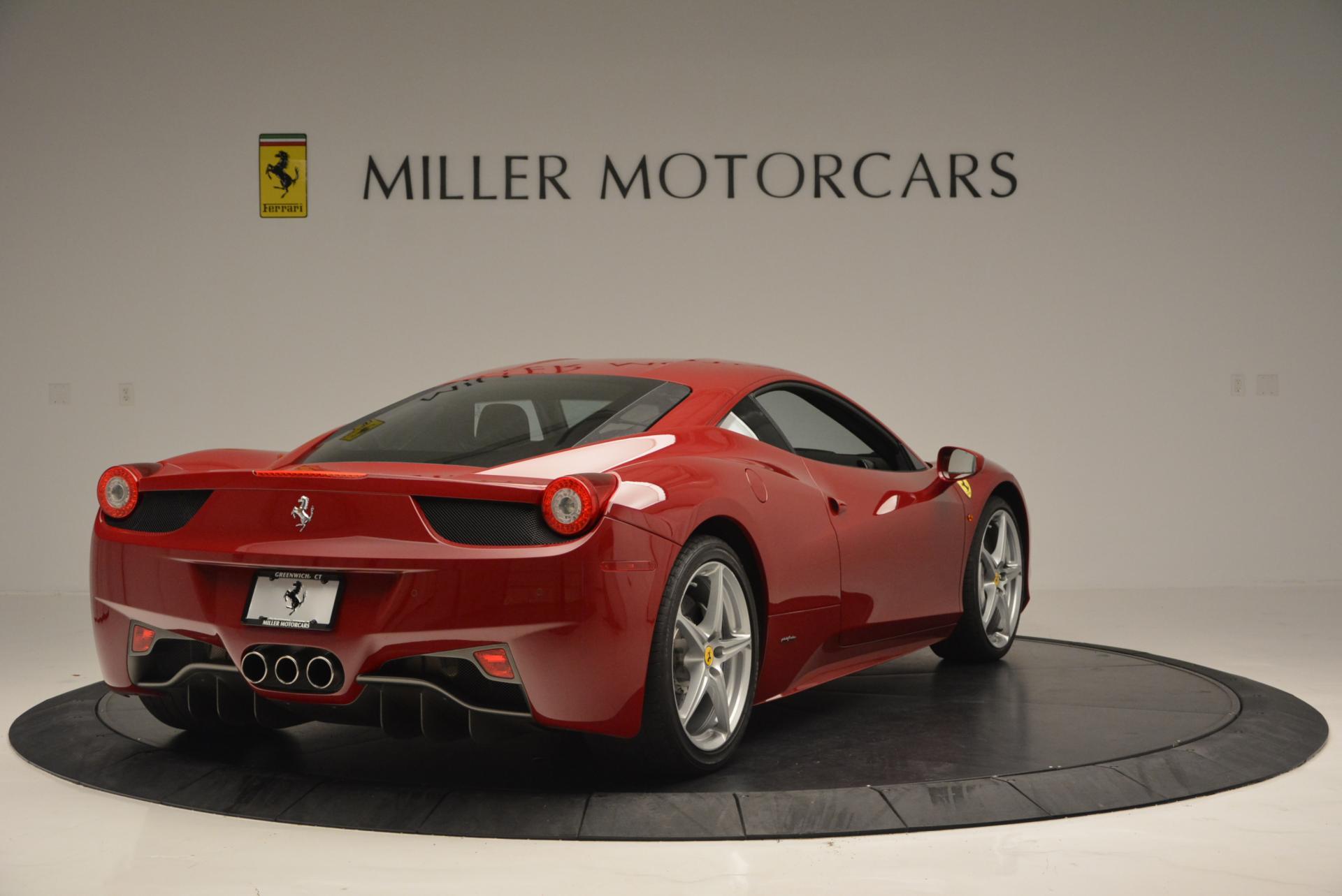 Used 2011 Ferrari 458 Italia  For Sale In Westport, CT 551_p7