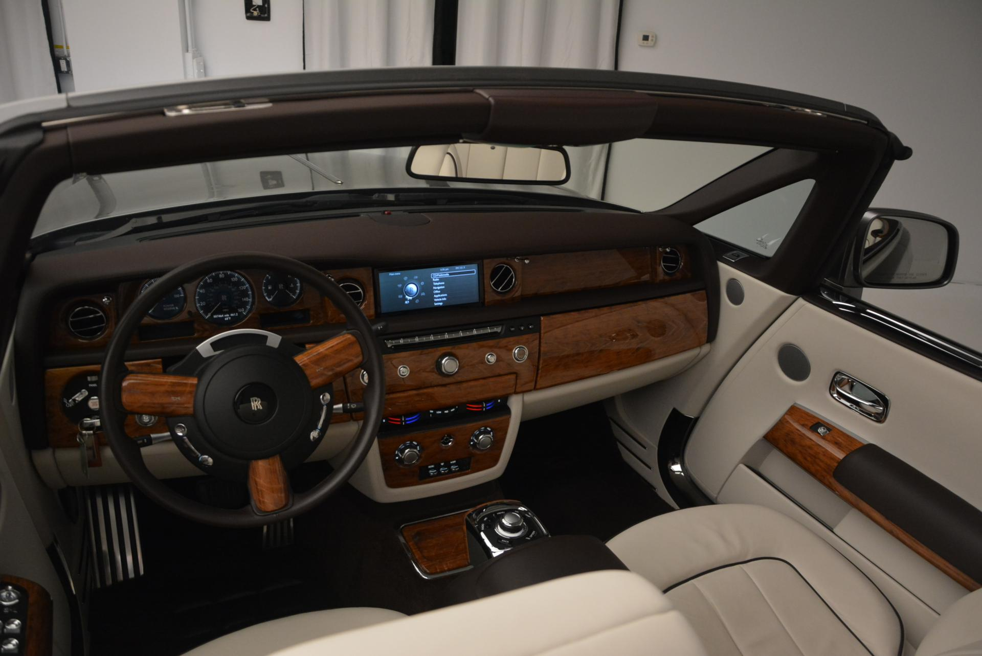 Used 2015 Rolls-Royce Phantom Drophead Coupe  For Sale In Westport, CT 554_p29