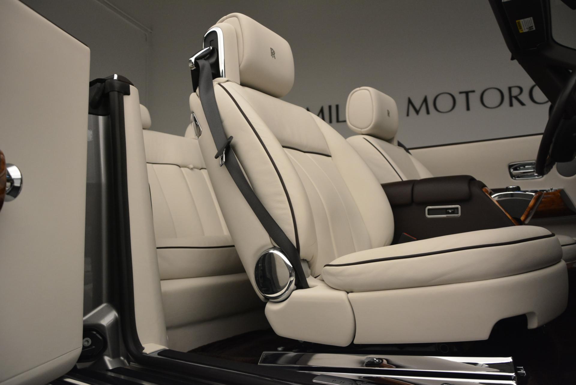 Used 2015 Rolls-Royce Phantom Drophead Coupe  For Sale In Westport, CT 554_p37