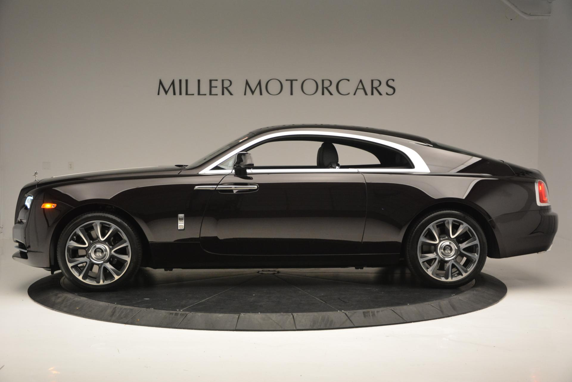 Used 2017 Rolls-Royce Wraith  For Sale In Westport, CT 556_p3