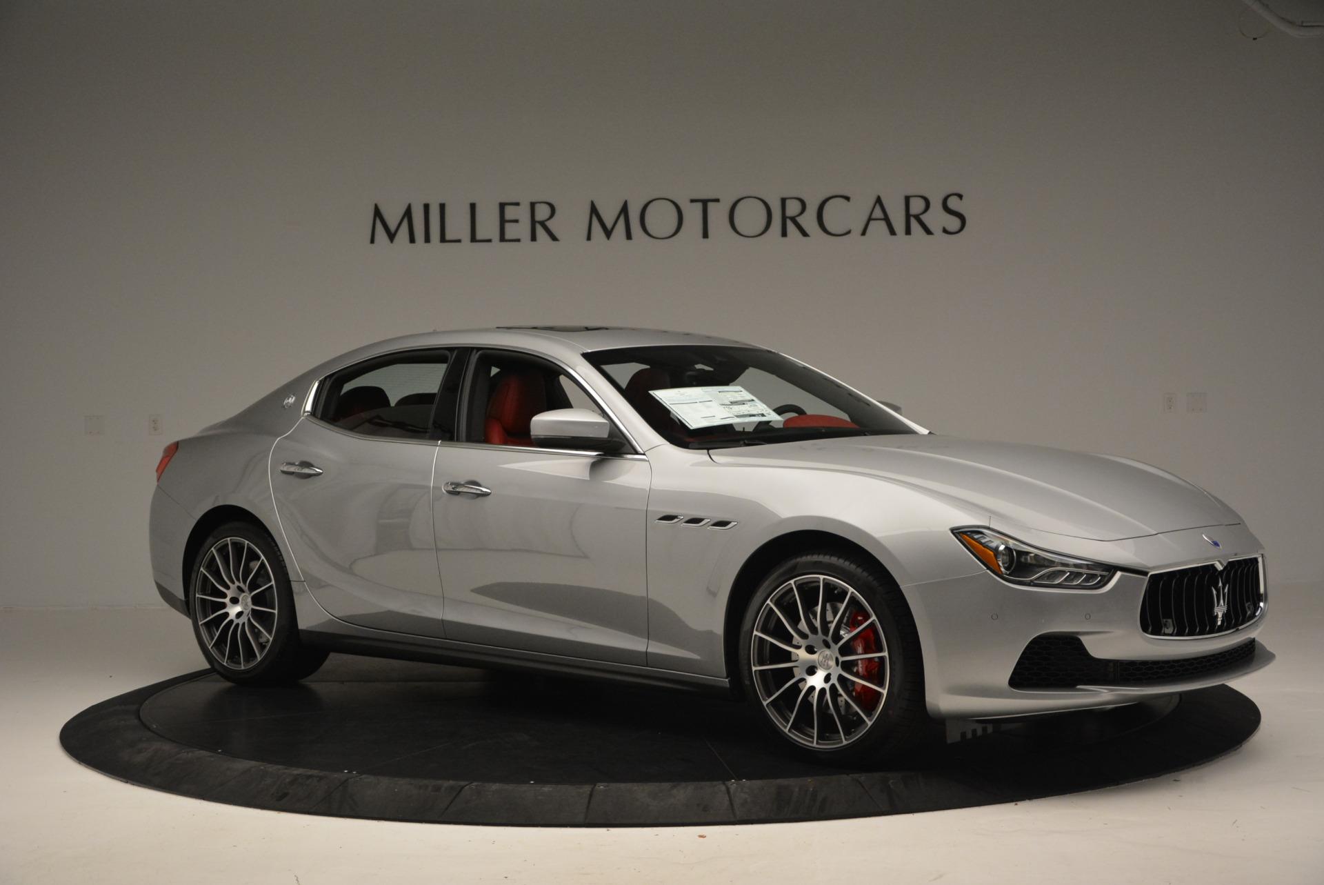 New 2017 Maserati Ghibli S Q4 For Sale In Westport, CT 572_p10