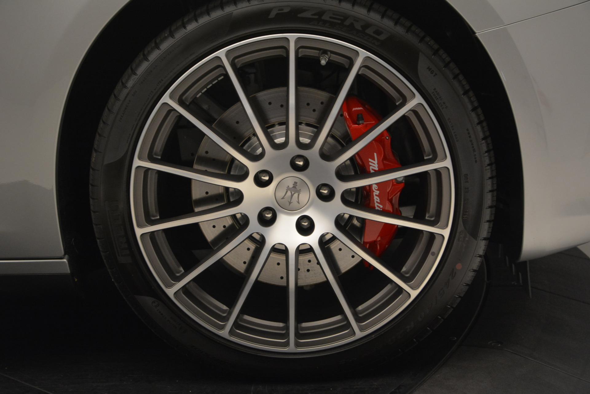 New 2017 Maserati Ghibli S Q4 For Sale In Westport, CT 572_p25