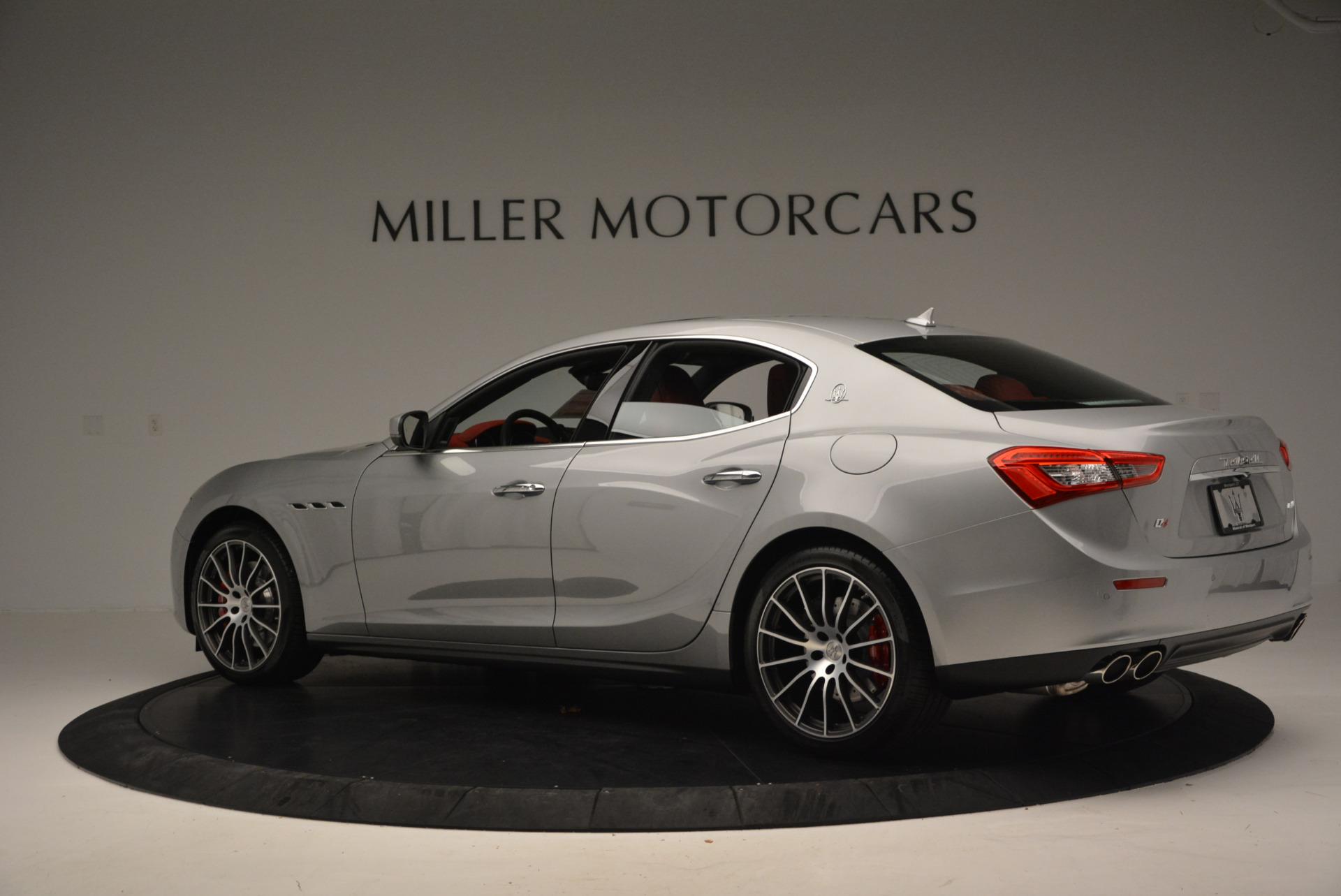 New 2017 Maserati Ghibli S Q4 For Sale In Westport, CT 572_p4