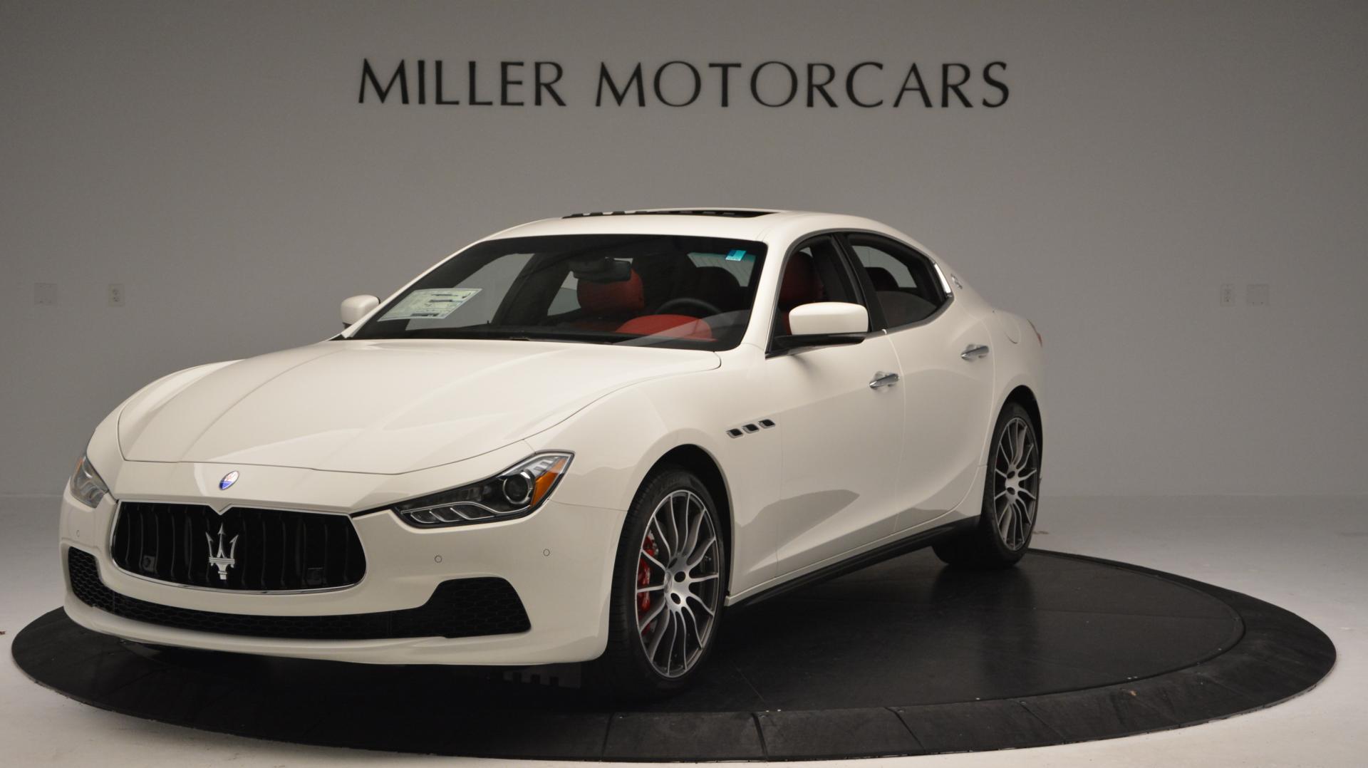 New 2016 Maserati Ghibli S Q4 For Sale In Westport, CT 58_main